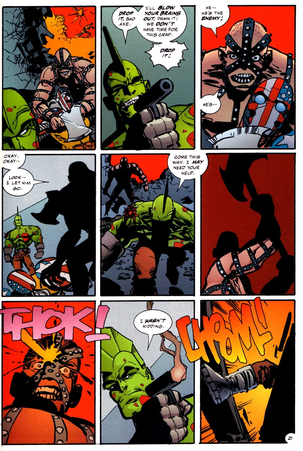 The Savage Dragon (1993) Issue #93 #96 - English 21