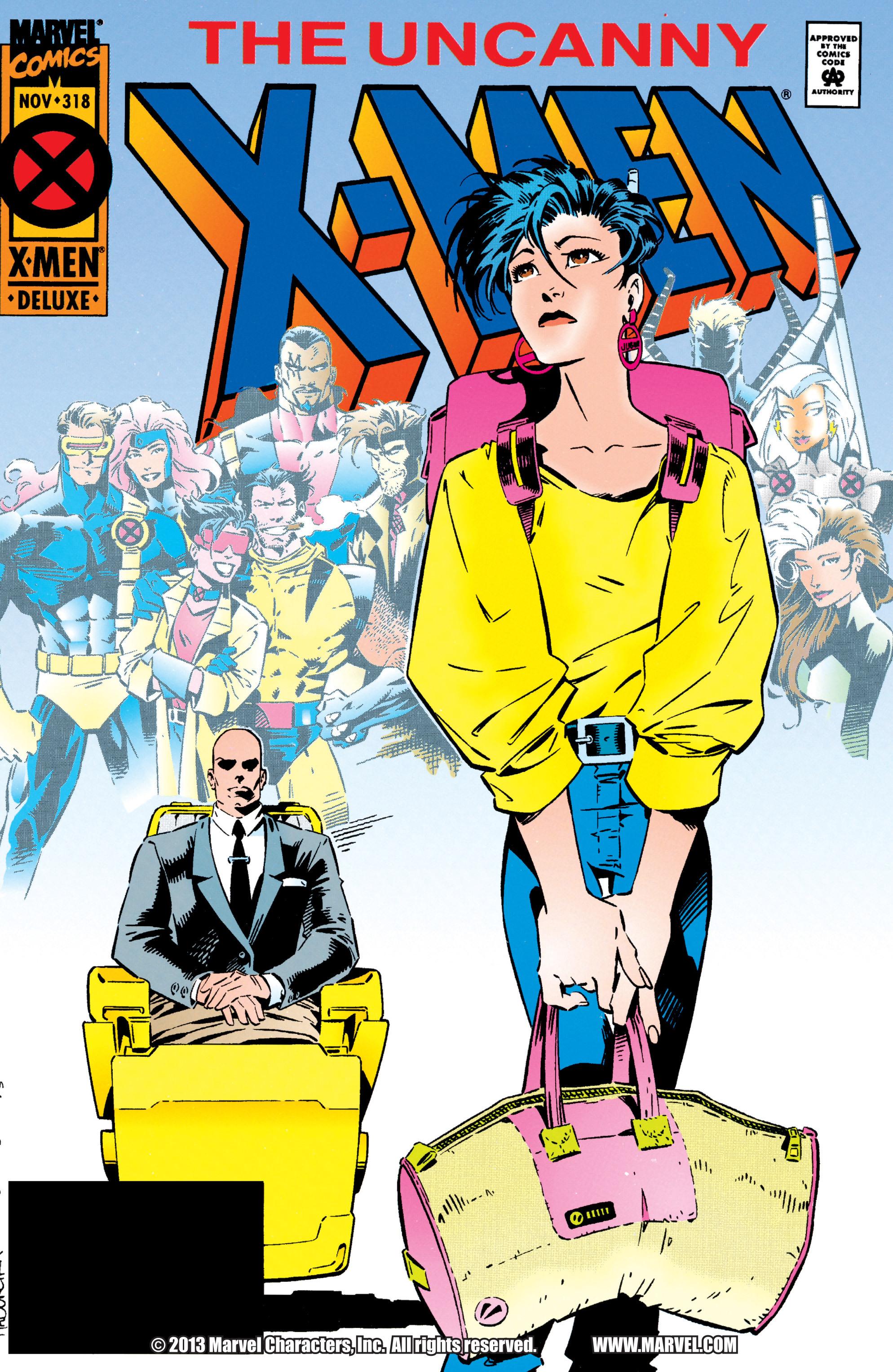 Read online Uncanny X-Men (1963) comic -  Issue #318 - 1