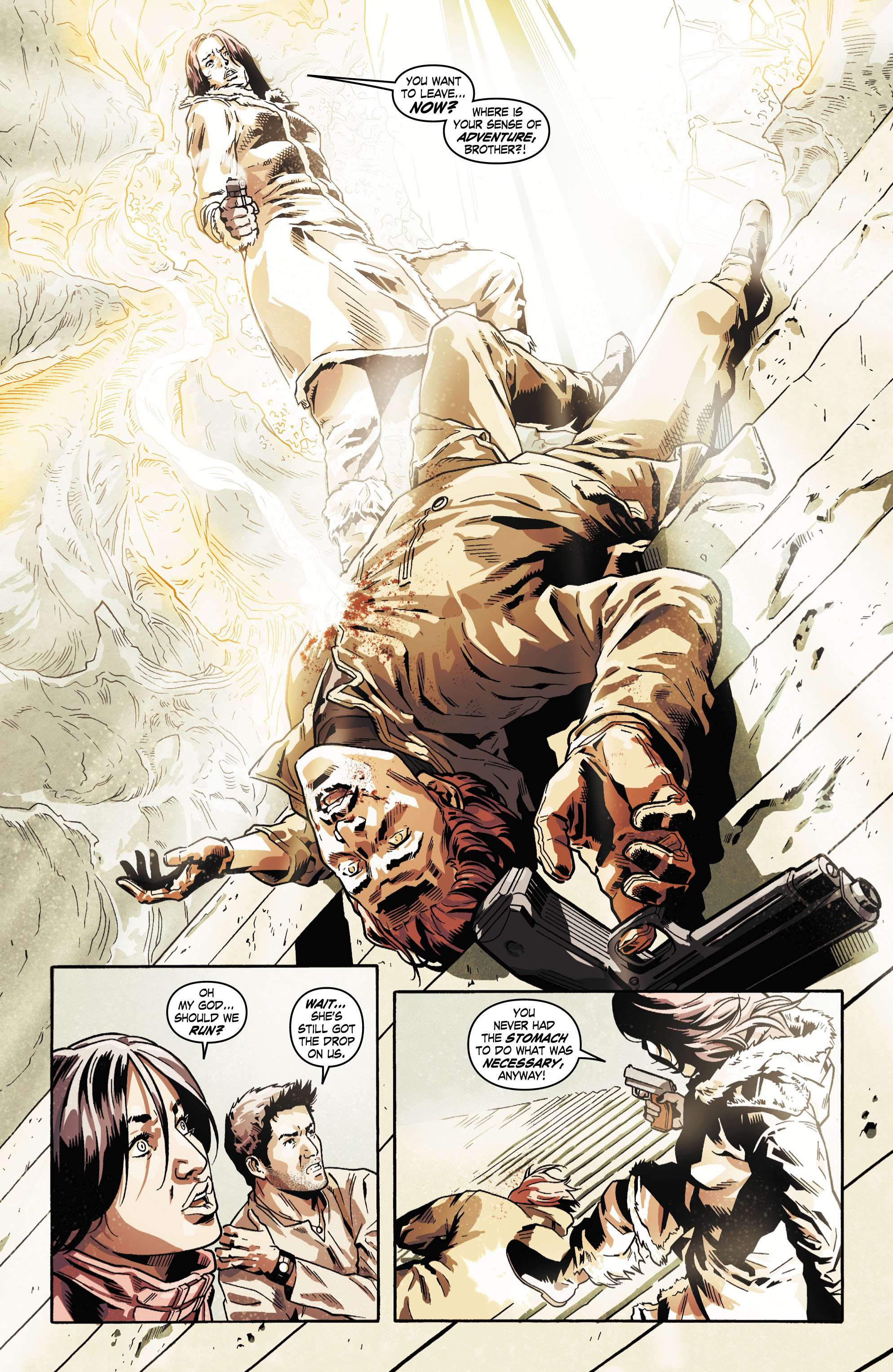 Read online Uncharted comic -  Issue #5 - 17