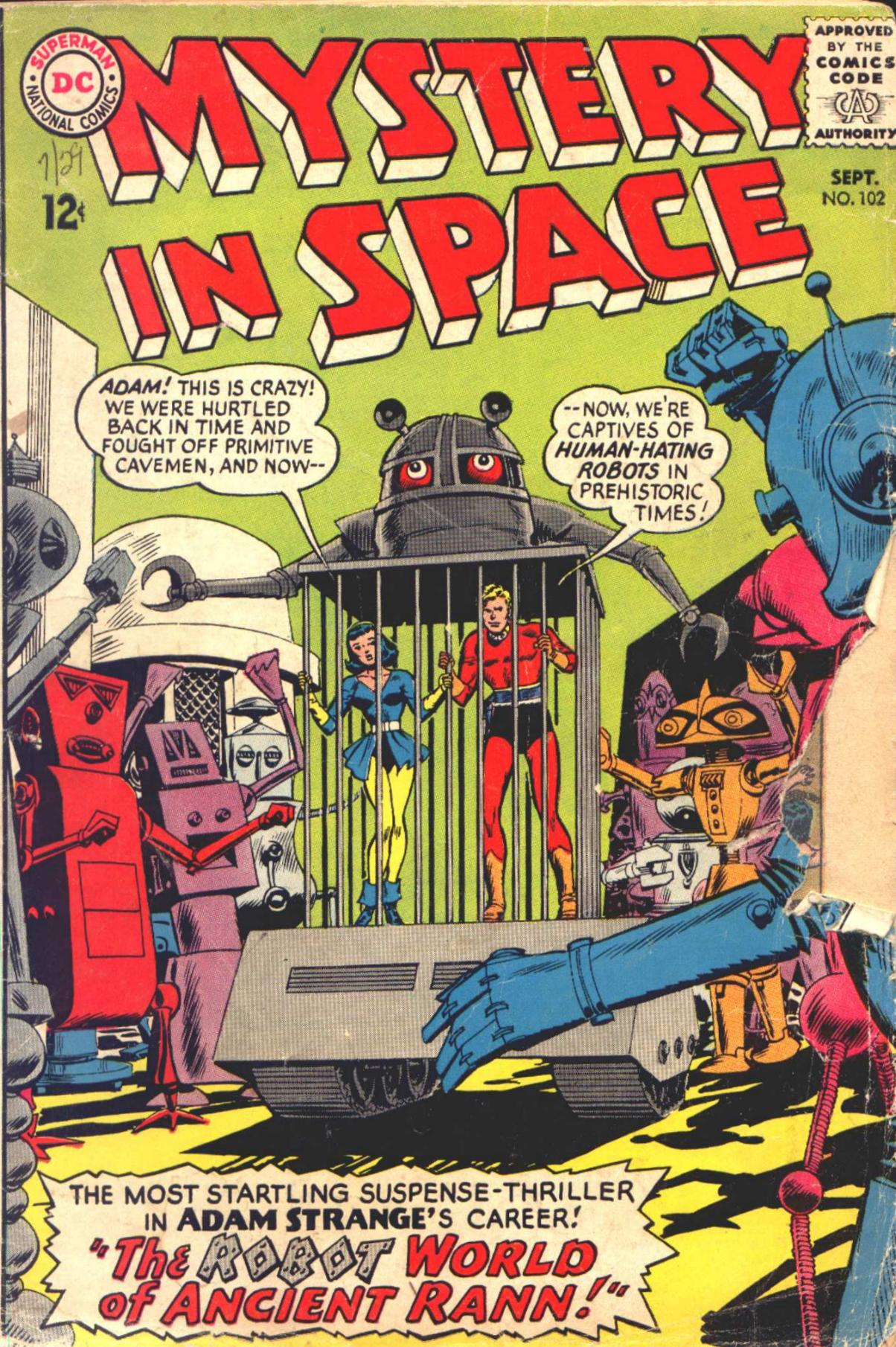 Mystery in Space (1951) issue 102 - Page 1