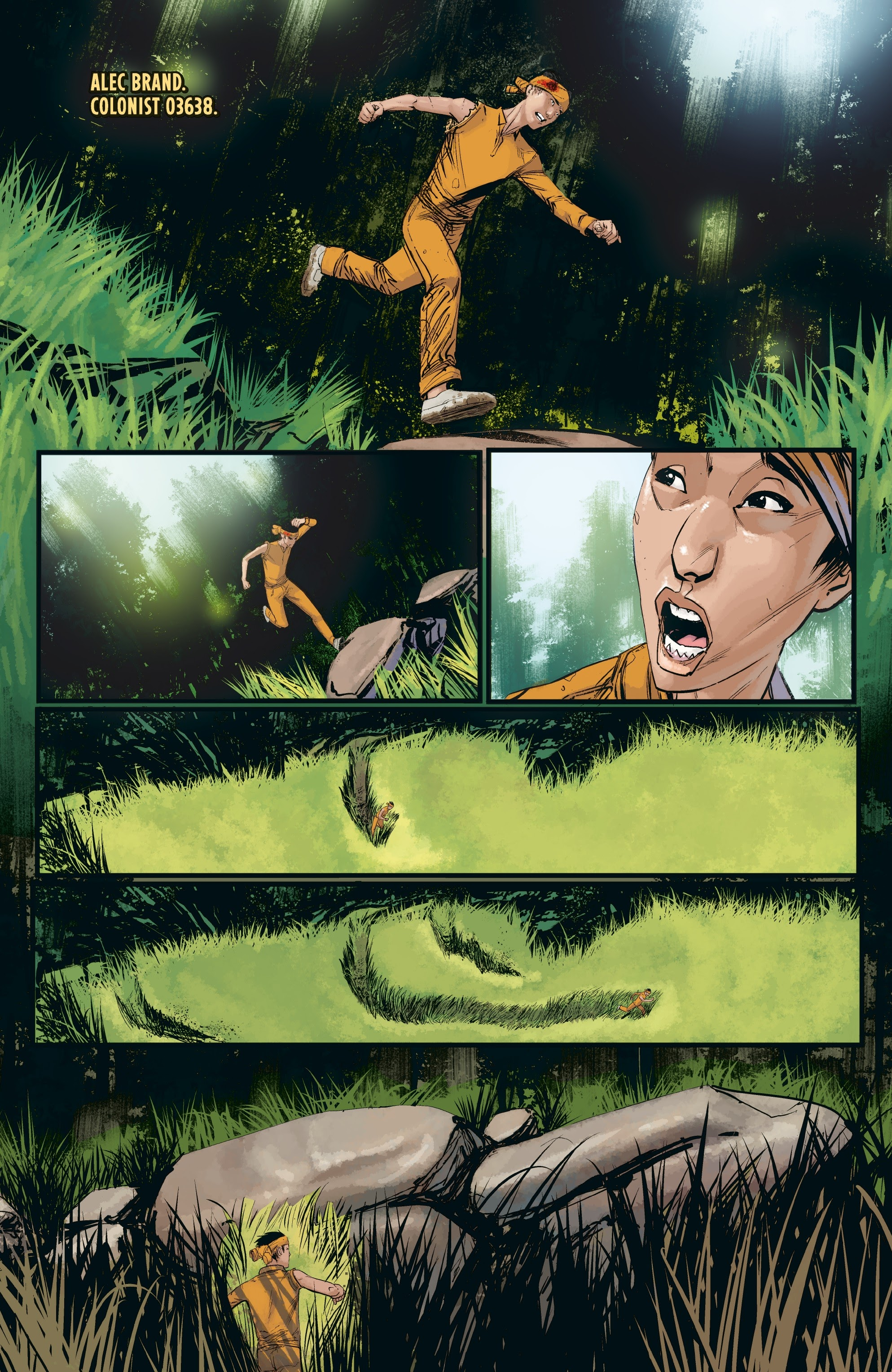 Aliens: Resistance issue 3 - Page 12
