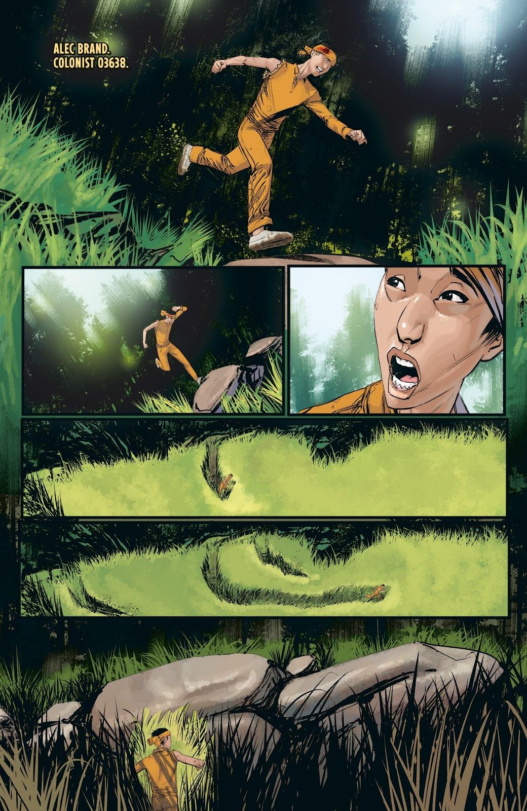 Read online Aliens: Resistance comic -  Issue #3 - 12