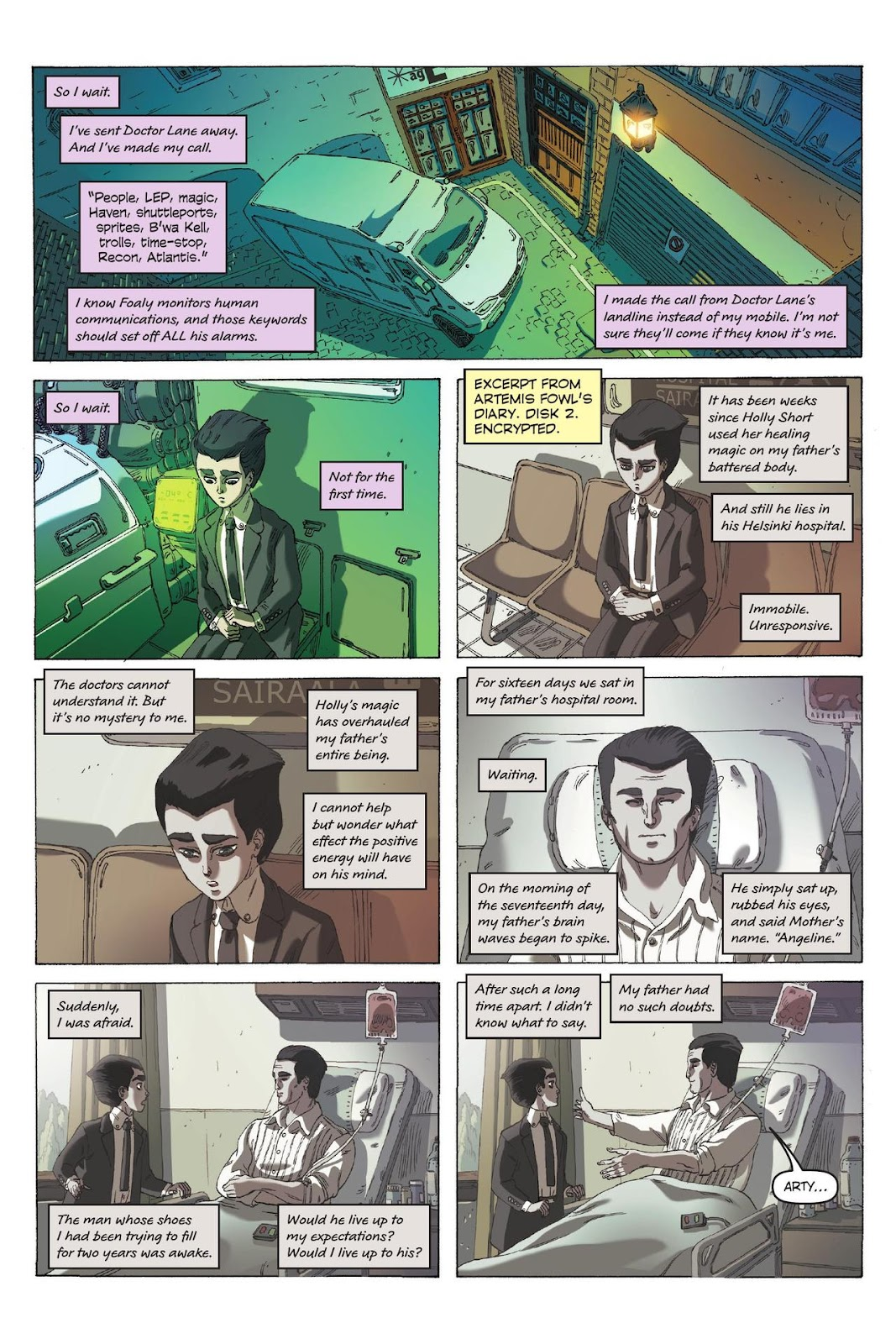 Artemis Fowl: The Eternity Code issue TPB - Page 34