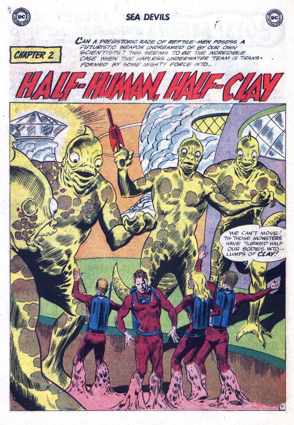 Read online Sea Devils comic -  Issue #20 - 14