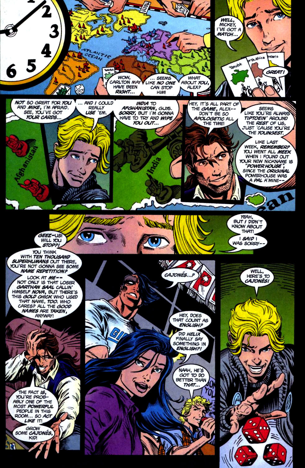 The New Warriors Issue #68 #72 - English 8