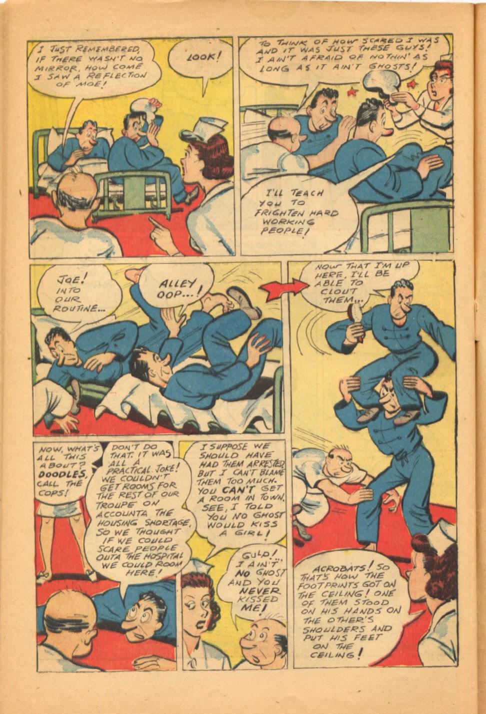 Read online Super-Magician Comics comic -  Issue #38 - 42