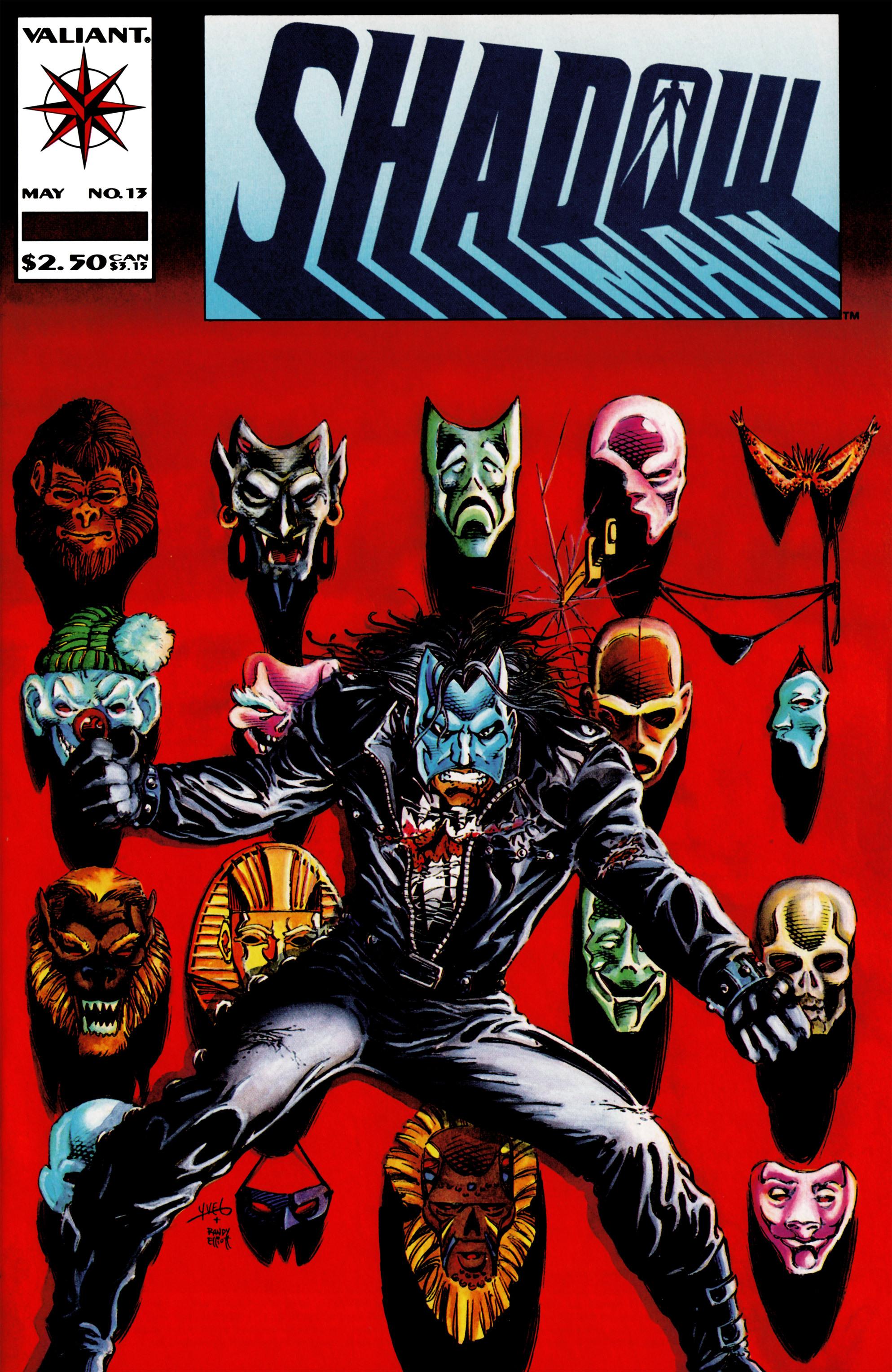 Read online Shadowman (1992) comic -  Issue #13 - 1