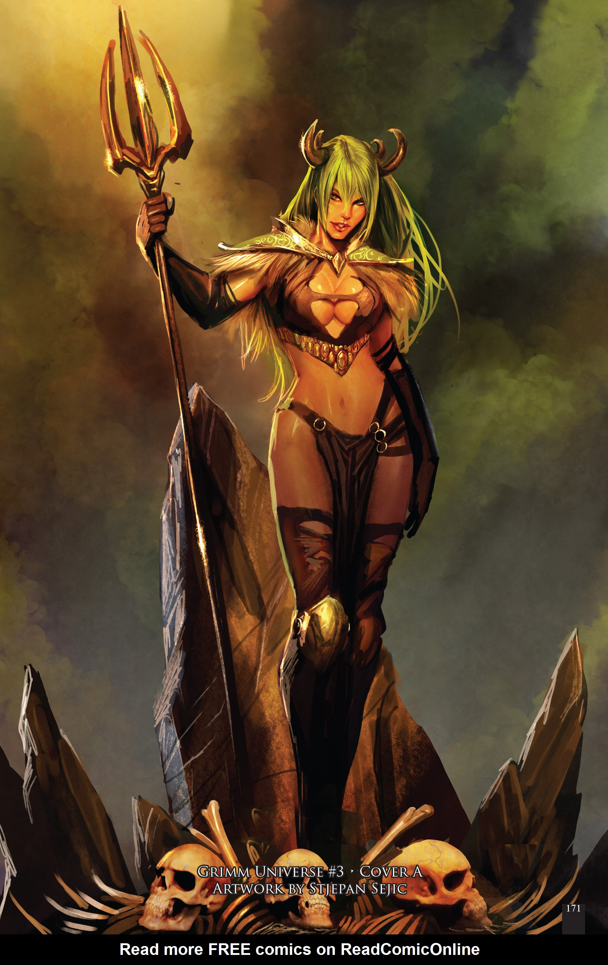 Read online Grimm Fairy Tales presents Grimm Universe comic -  Issue # TPB - 179