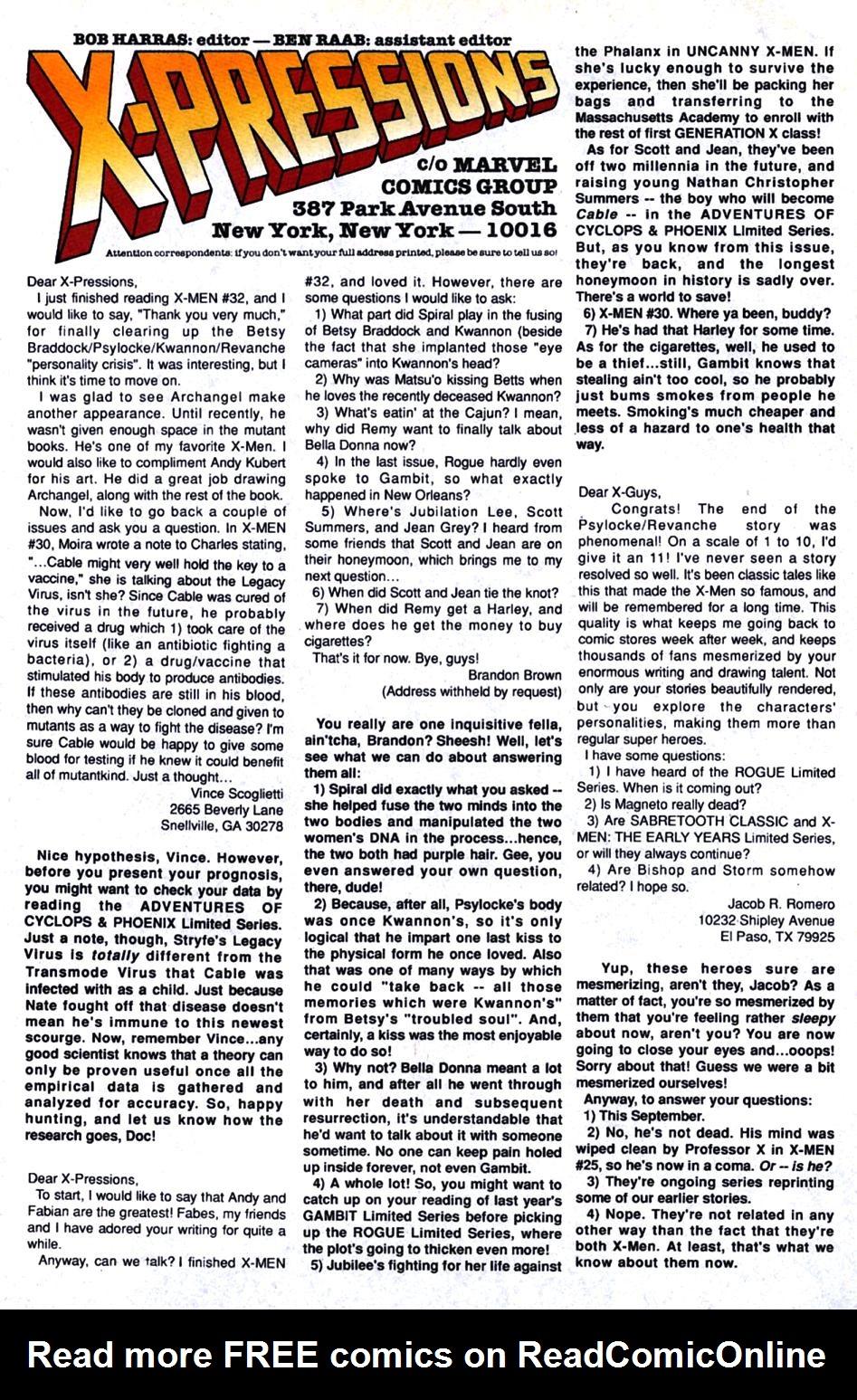 X-Men (1991) 35 Page 22