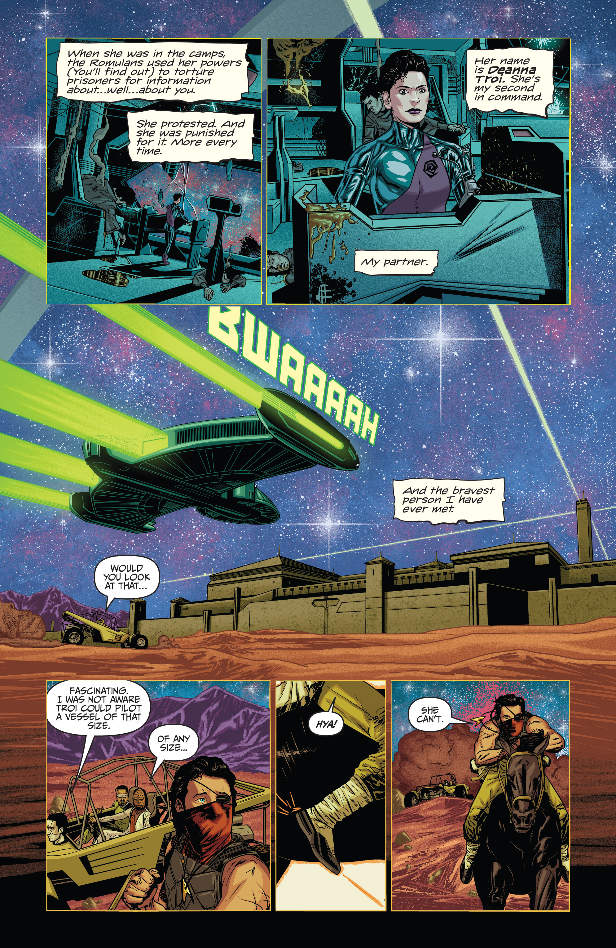 Read online Star Trek: Deviations comic -  Issue # Full - 8