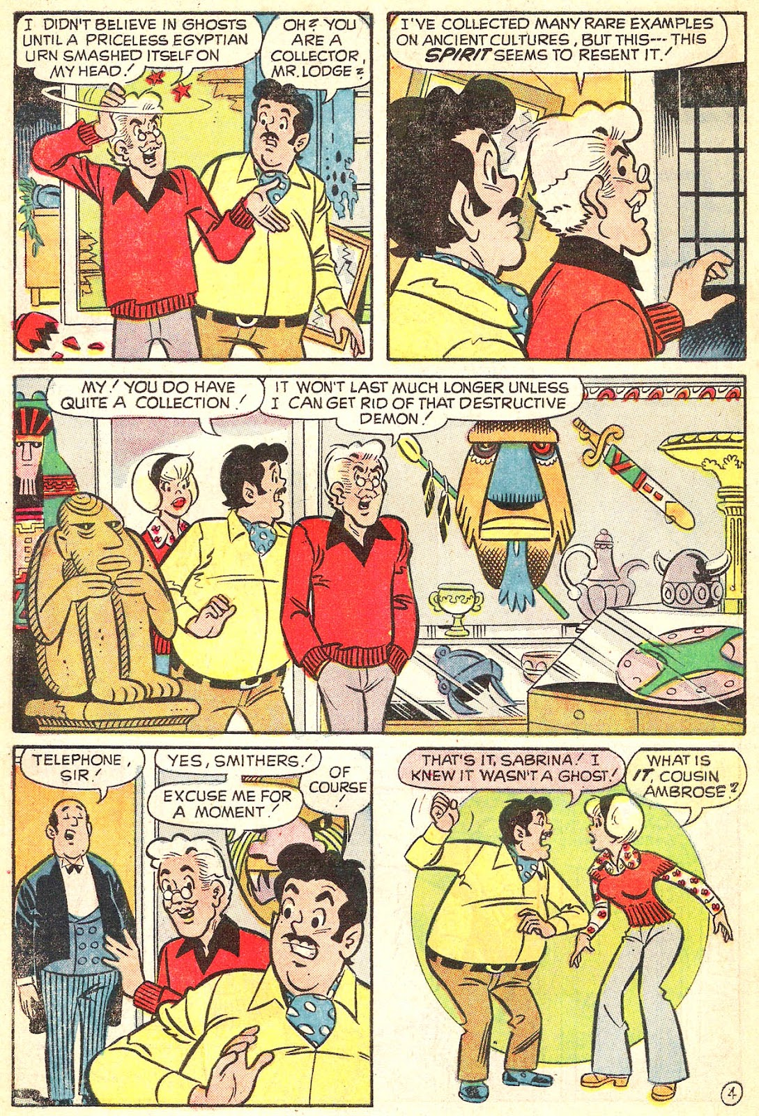 Sabrina The Teenage Witch (1971) Issue #15 #15 - English 6