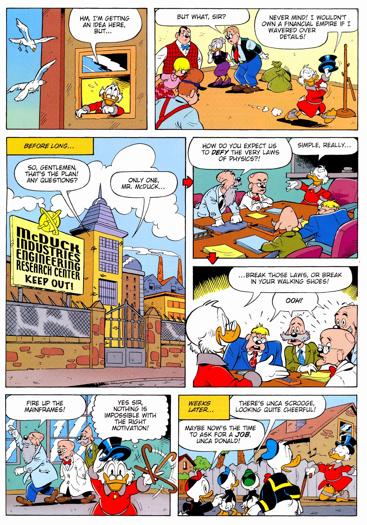 Read online Uncle Scrooge (1953) comic -  Issue #328 - 37