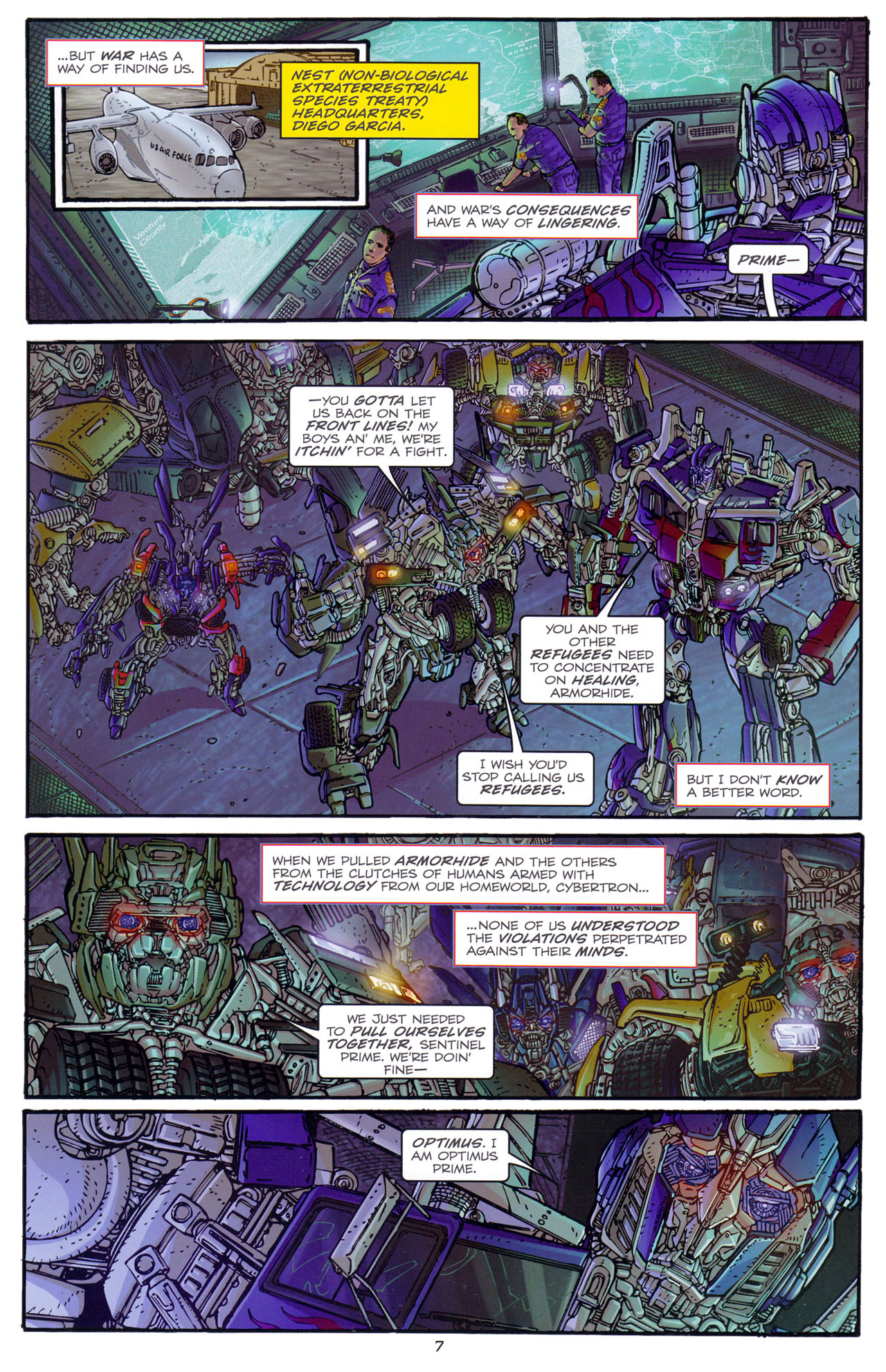 Read online Transformers: Dark of the Moon Rising Storm comic -  Issue #1 - 10