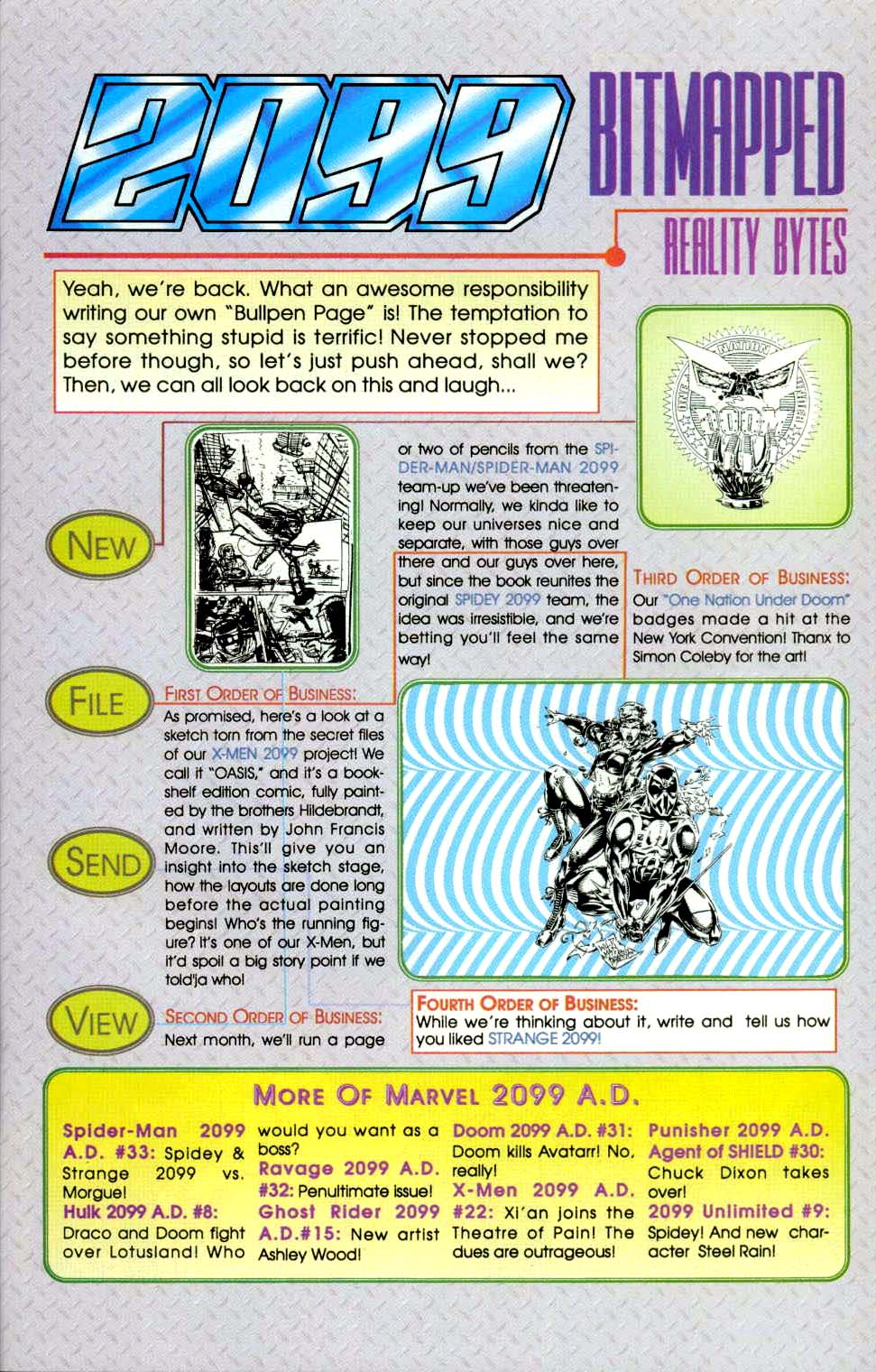 Read online 2099 Unlimited comic -  Issue #9 - 34
