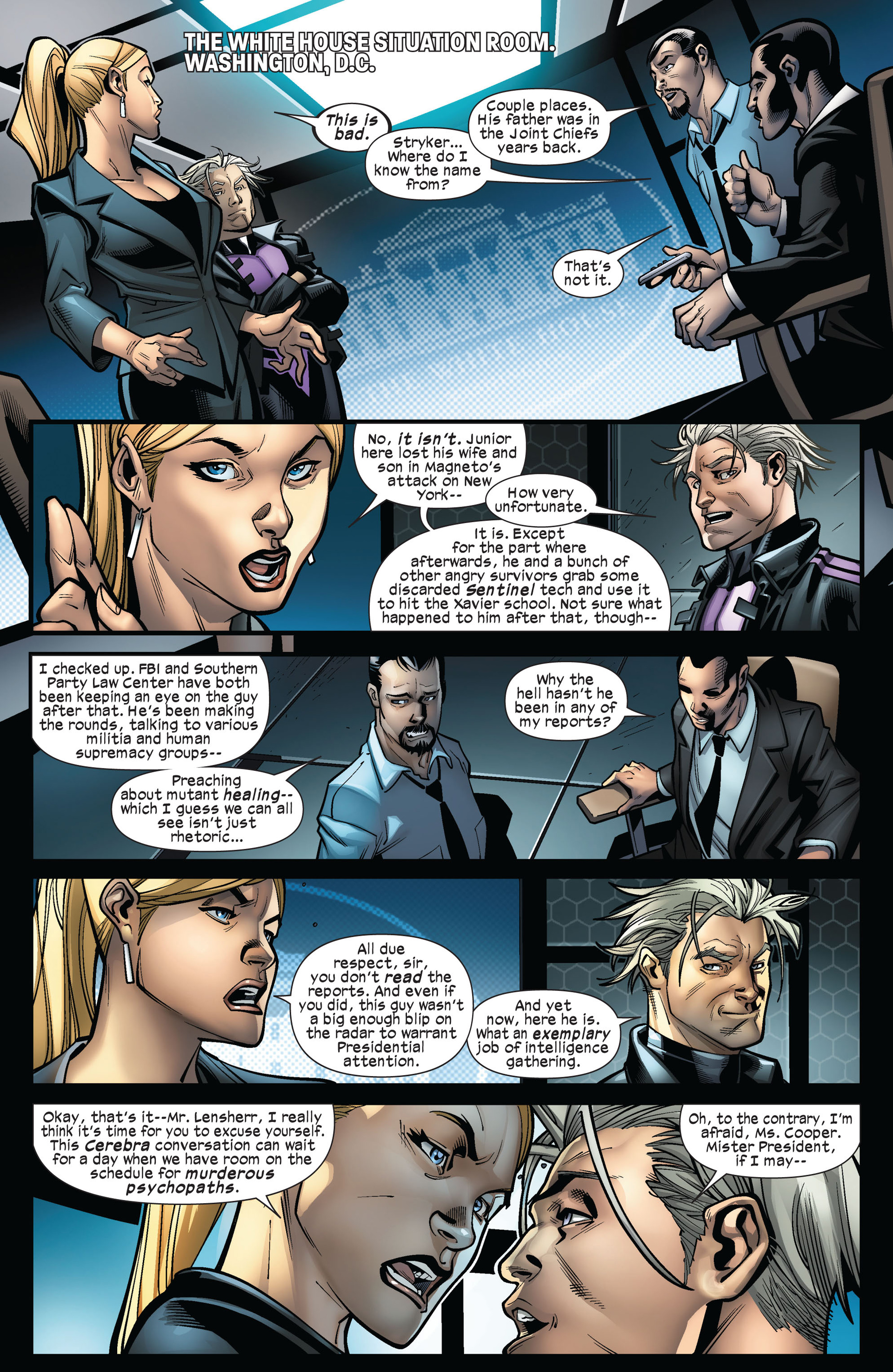 Read online Ultimate Comics X-Men comic -  Issue #5 - 7