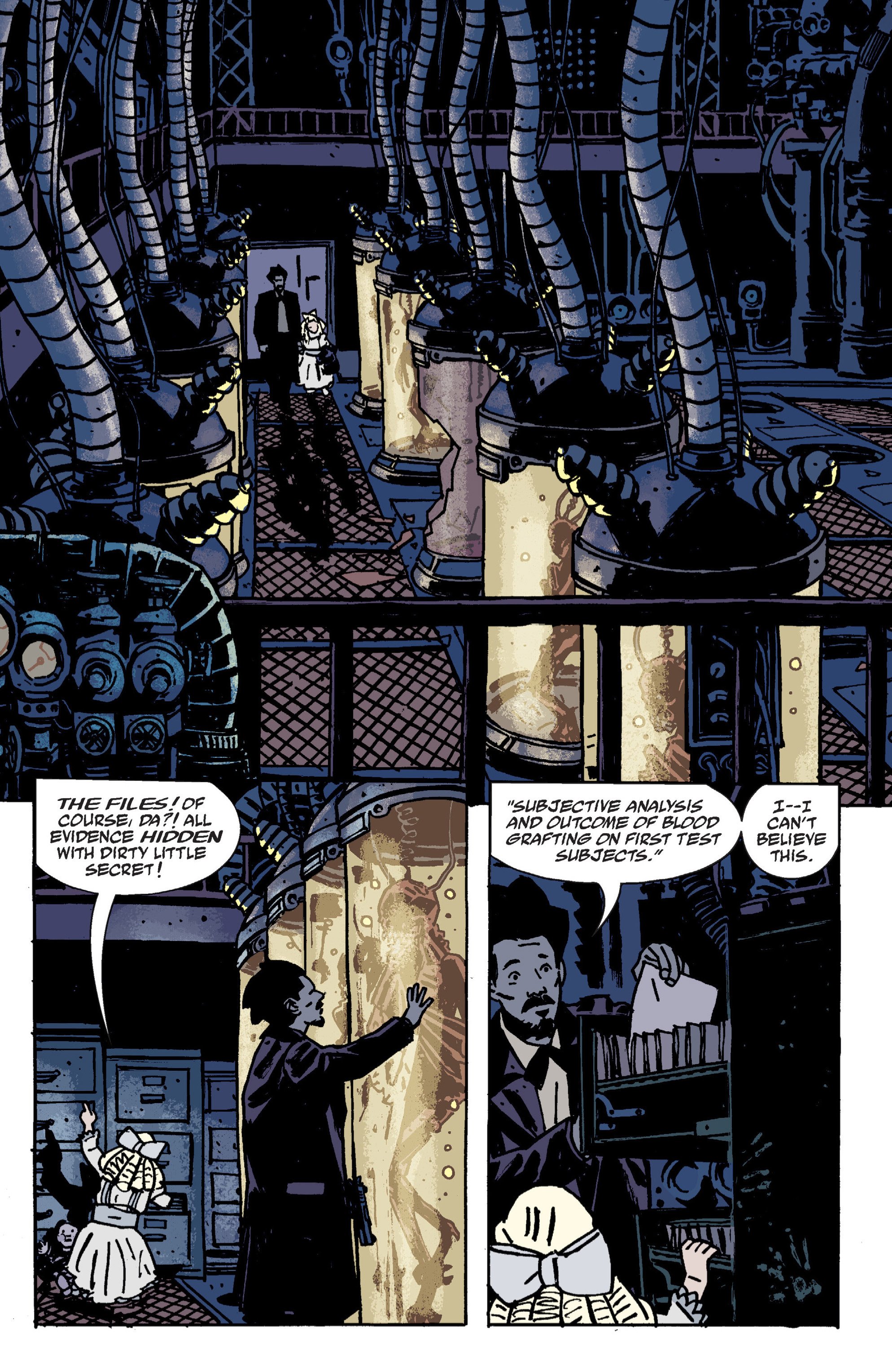 Read online B.P.R.D. (2003) comic -  Issue # TPB 9 - 69