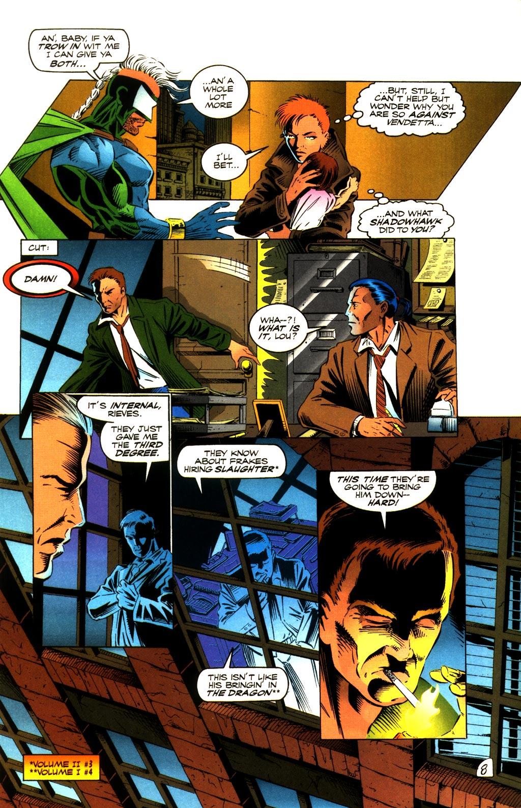 Read online ShadowHawk comic -  Issue #8 - 8