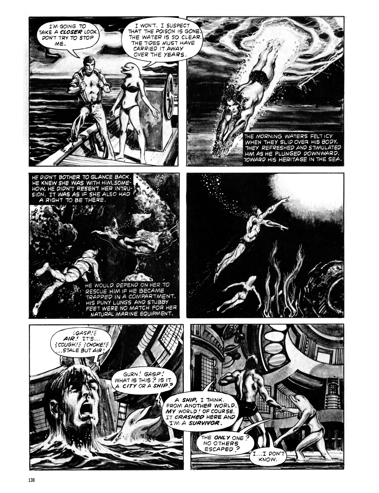 Read online Eerie Archives comic -  Issue # TPB 20 - 130