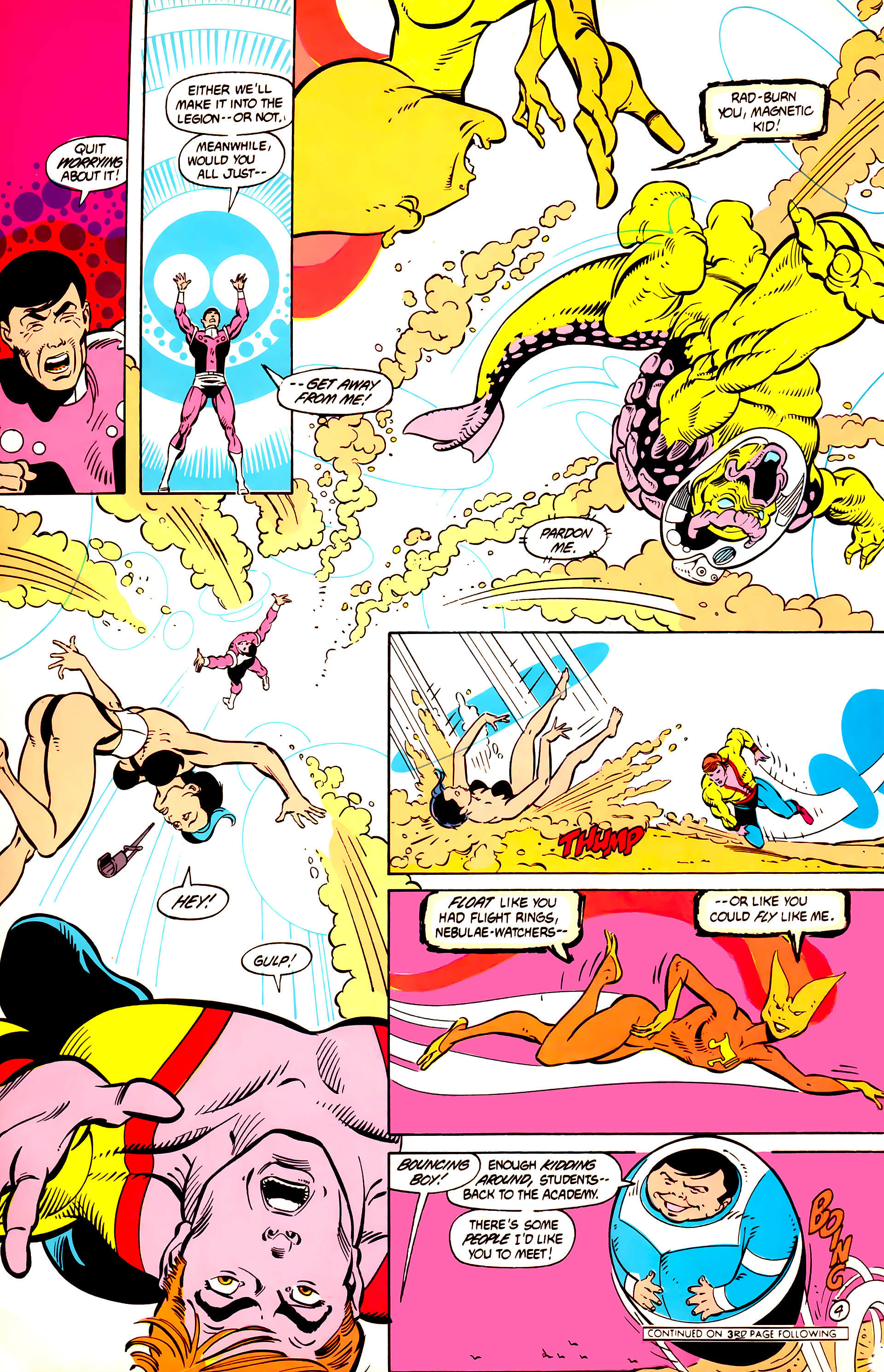 Legion of Super-Heroes (1984) 12 Page 17