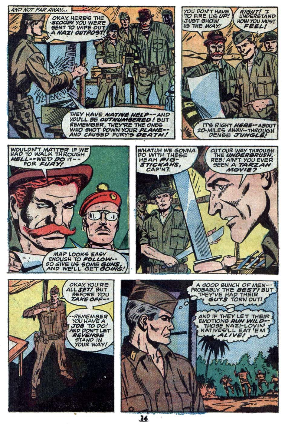 Read online Sgt. Fury comic -  Issue #114 - 16