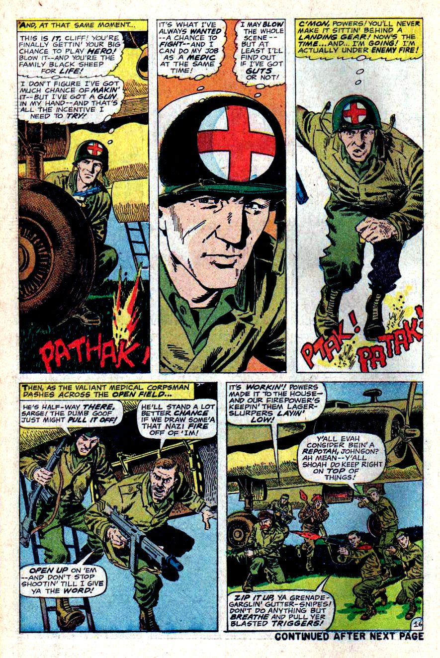 Read online Sgt. Fury comic -  Issue #46 - 22