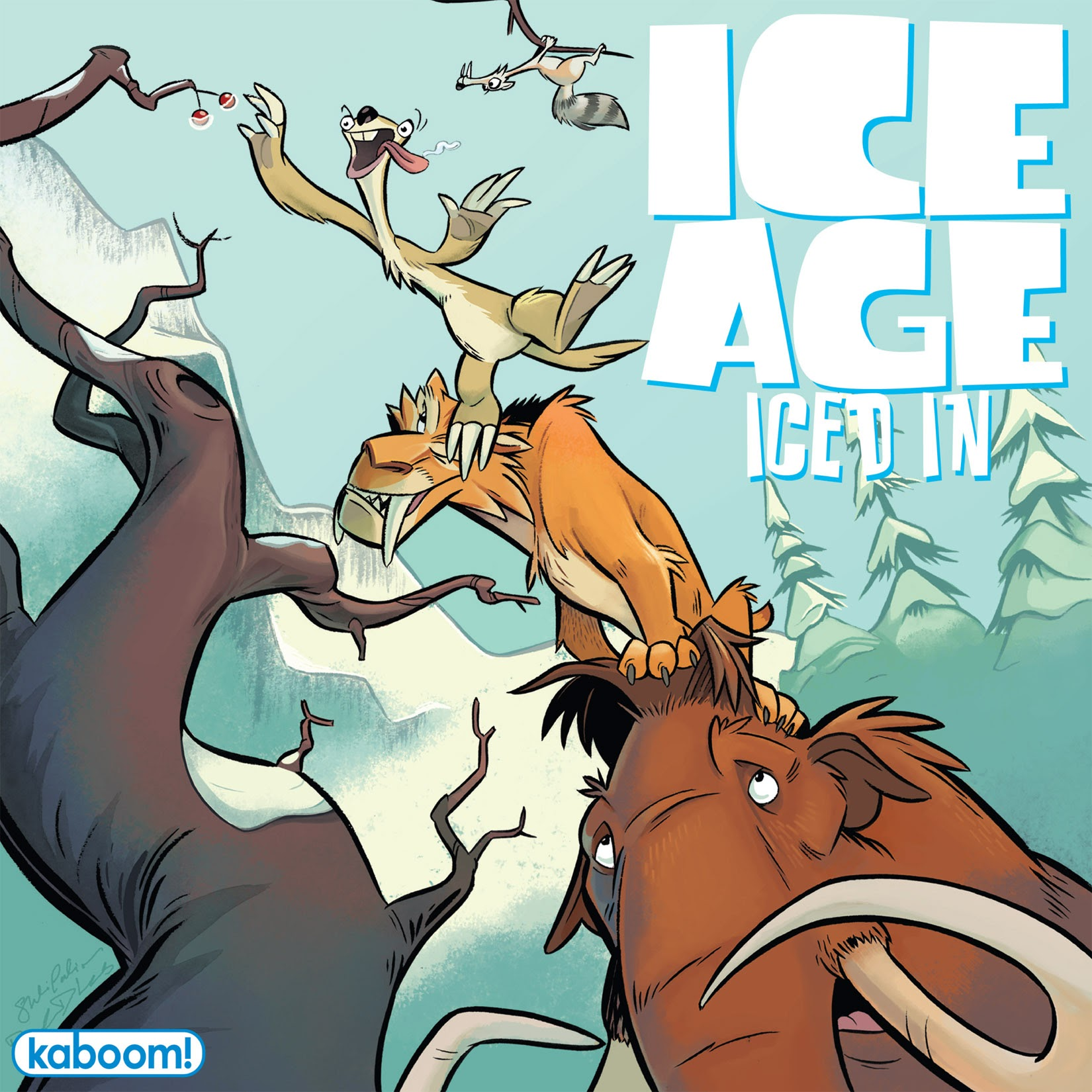 Ice Age: Iced In Full Page 1