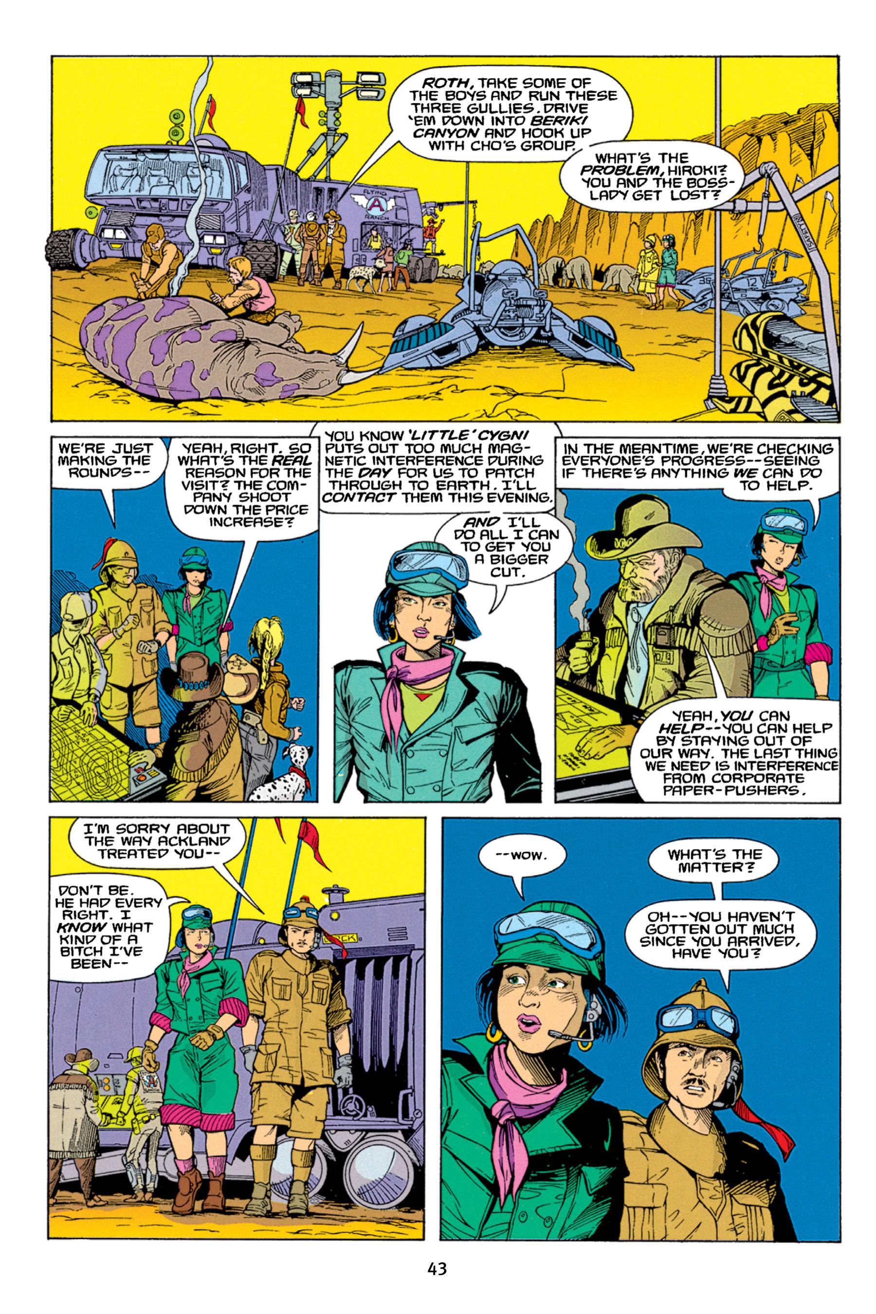 Read online Aliens vs. Predator Omnibus comic -  Issue # _TPB 1 Part 1 - 43
