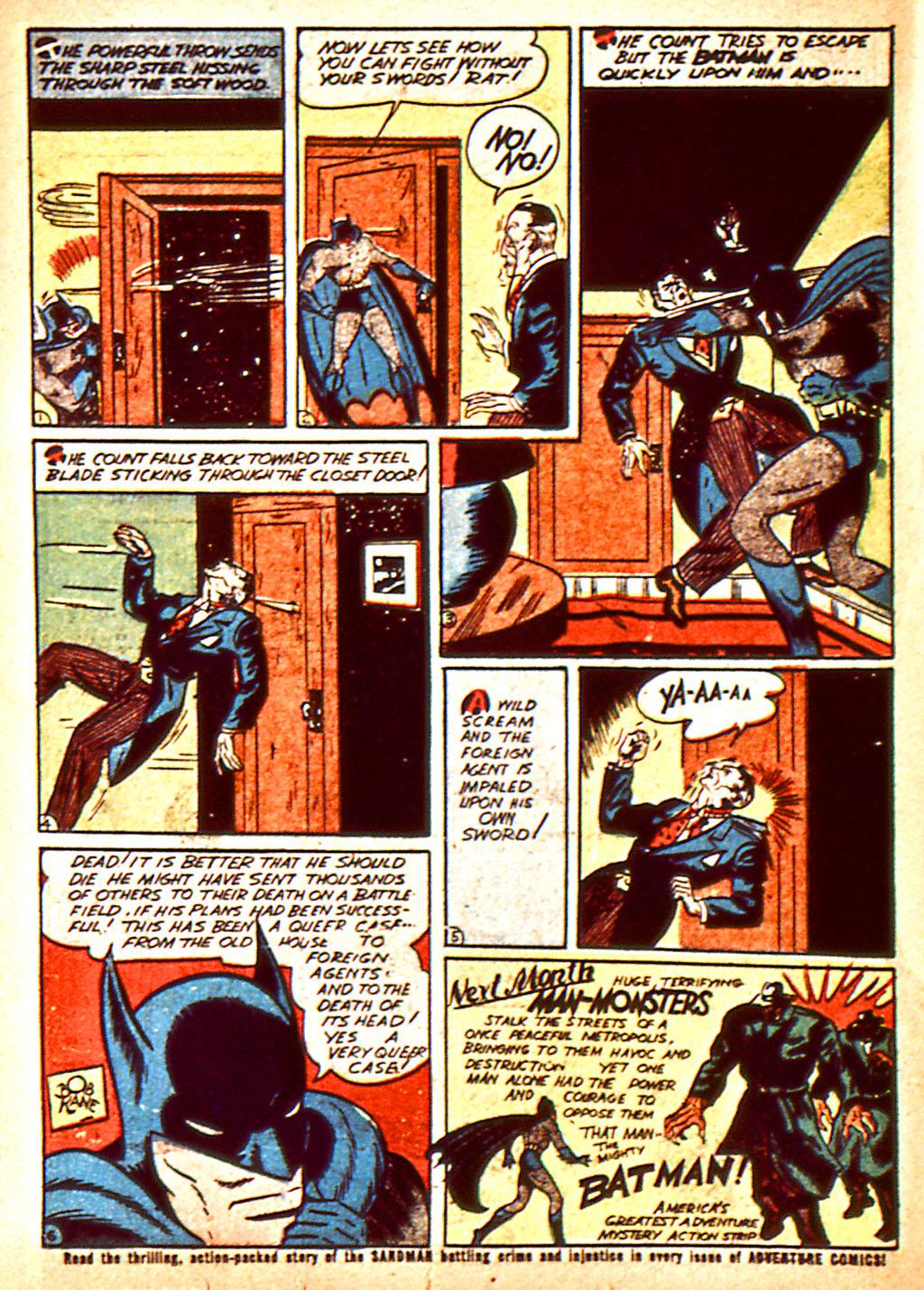 Read online Detective Comics (1937) comic -  Issue #37 - 15