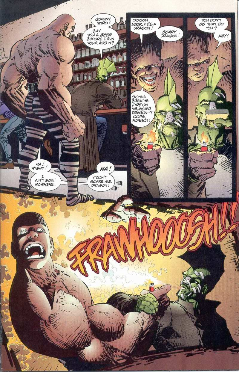The Savage Dragon (1993) Issue #1 #3 - English 9