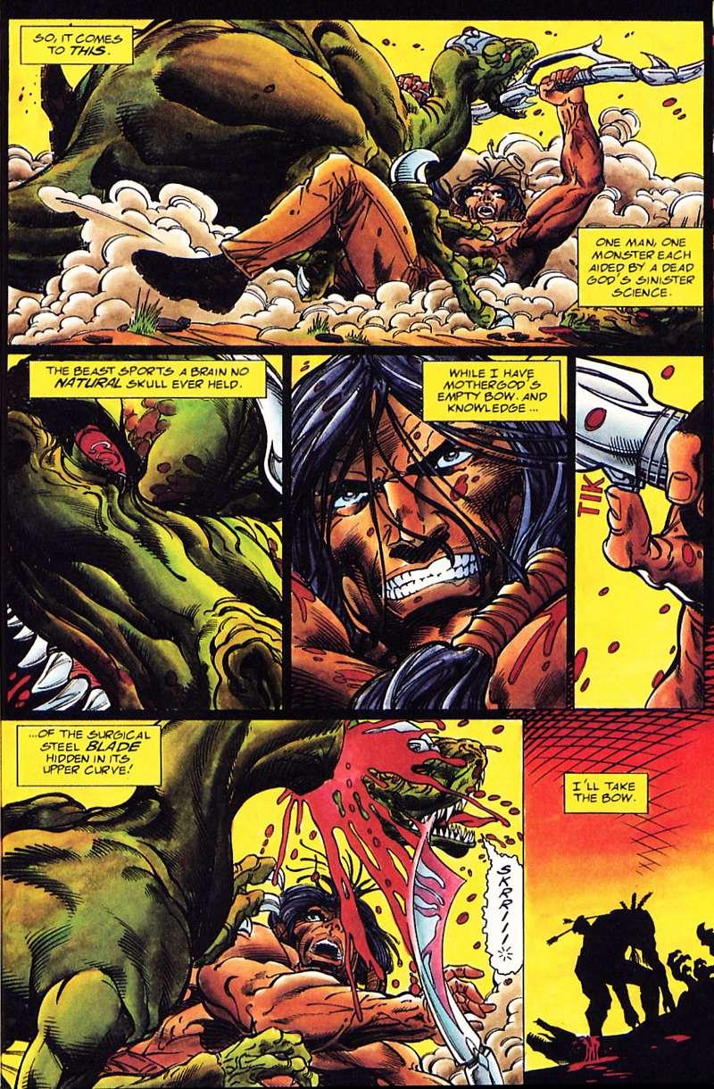 Read online Turok, Dinosaur Hunter (1993) comic -  Issue #1 - 22