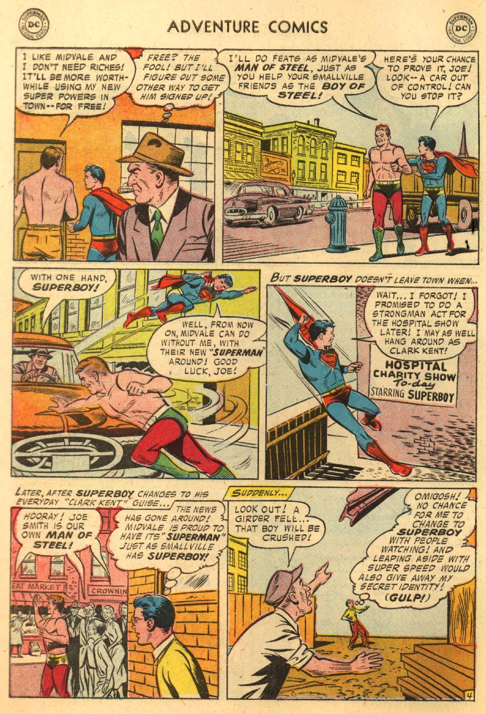 Read online Adventure Comics (1938) comic -  Issue #233 - 6