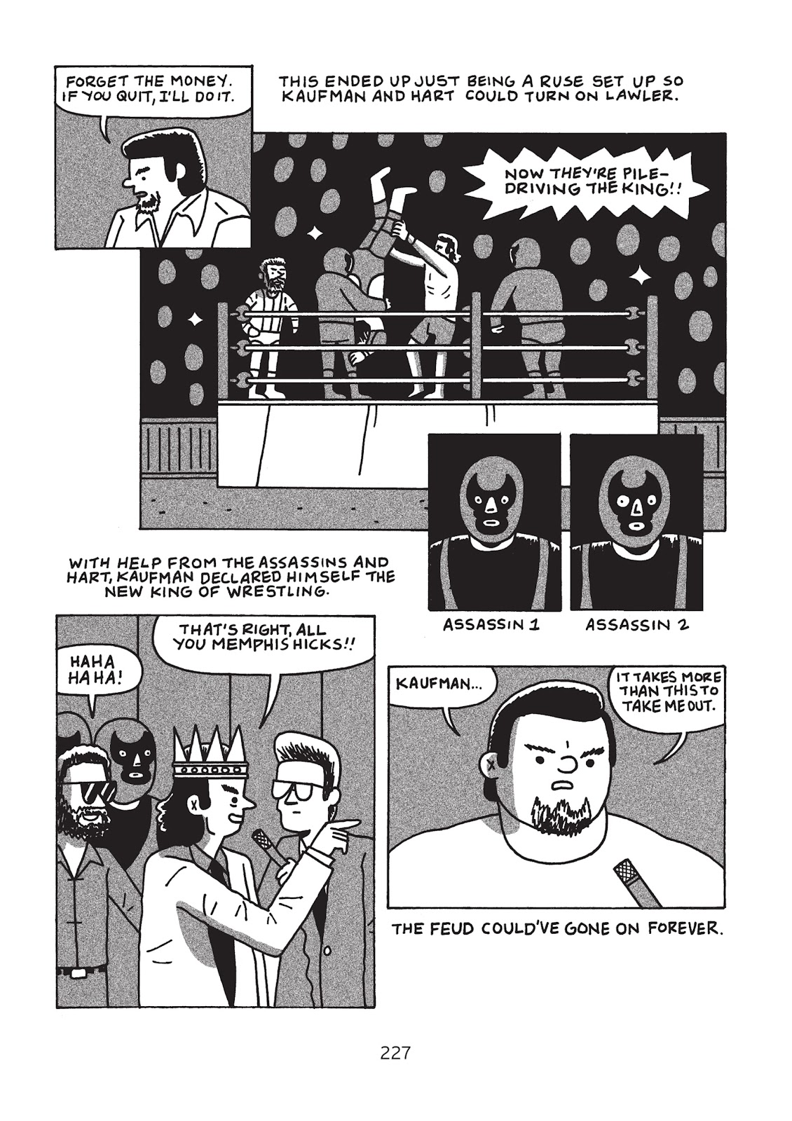 Read online Is This Guy For Real?: The Unbelievable Andy Kaufman comic -  Issue # TPB (Part 3) - 32