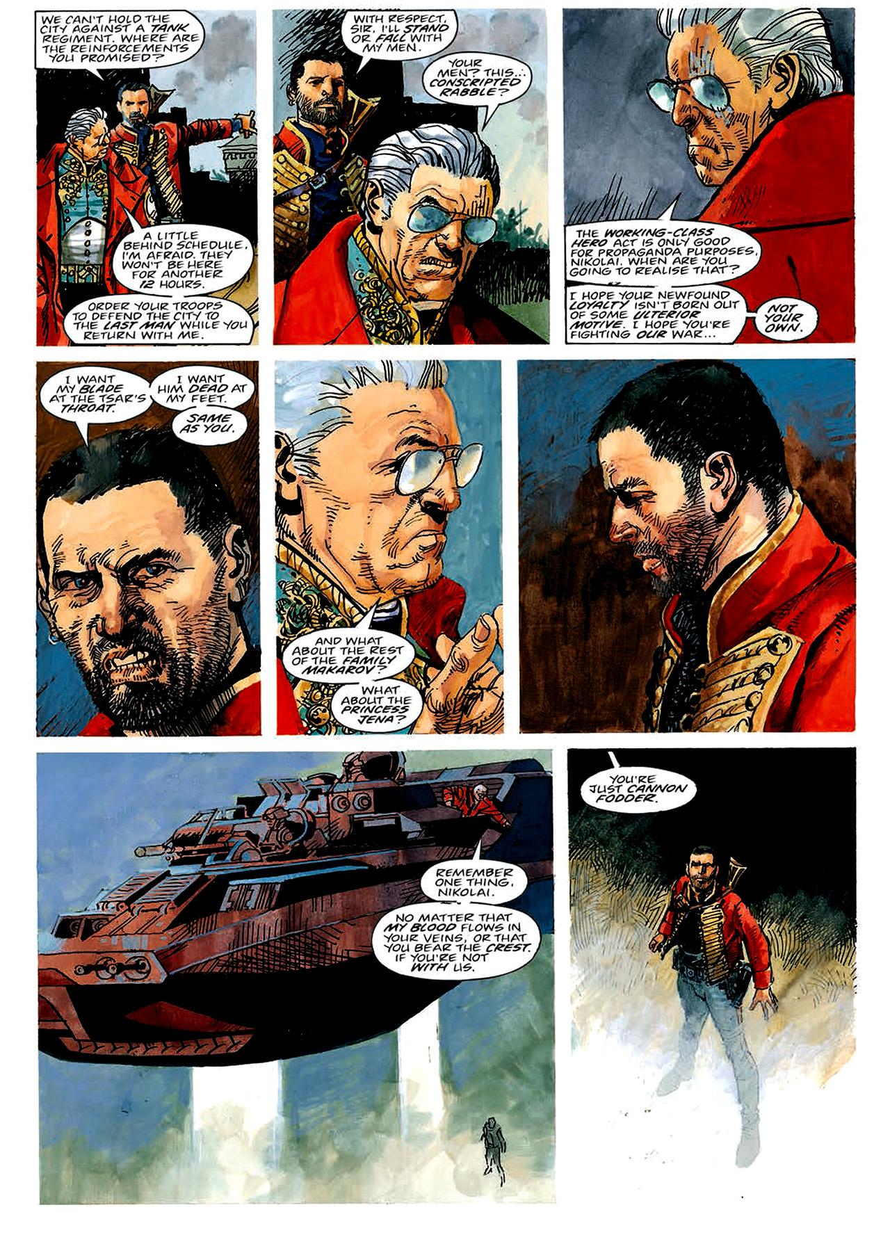 Read online Nikolai Dante comic -  Issue # TPB 4 - 9