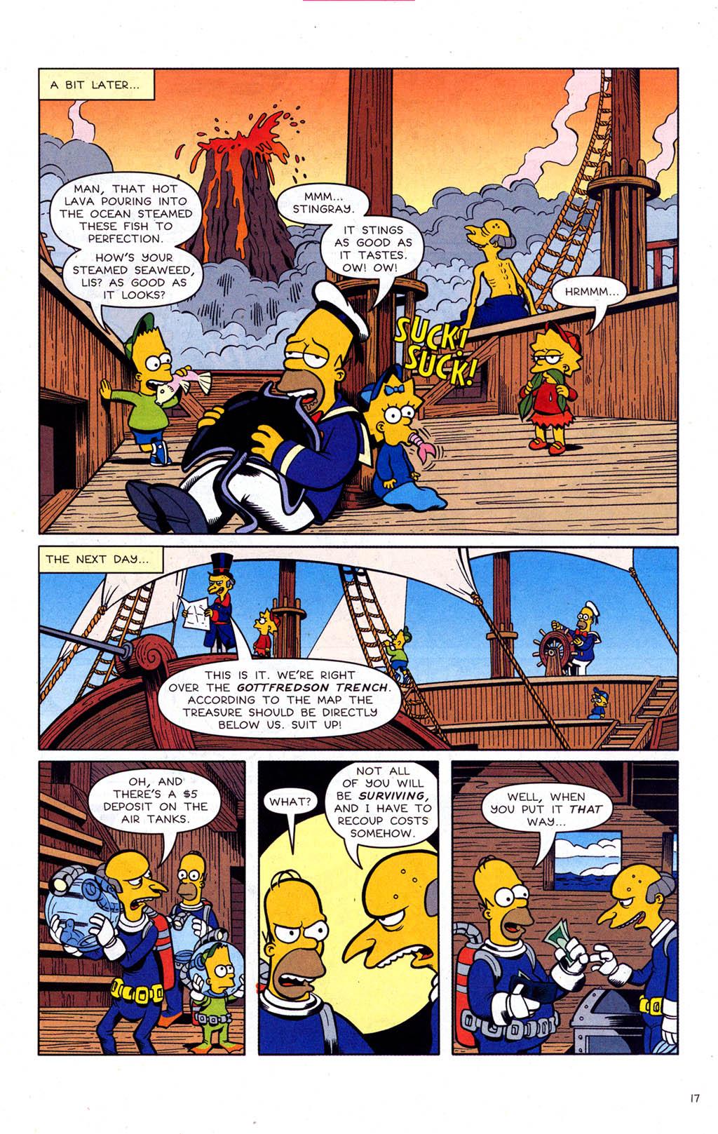 Read online Simpsons Comics comic -  Issue #102 - 18