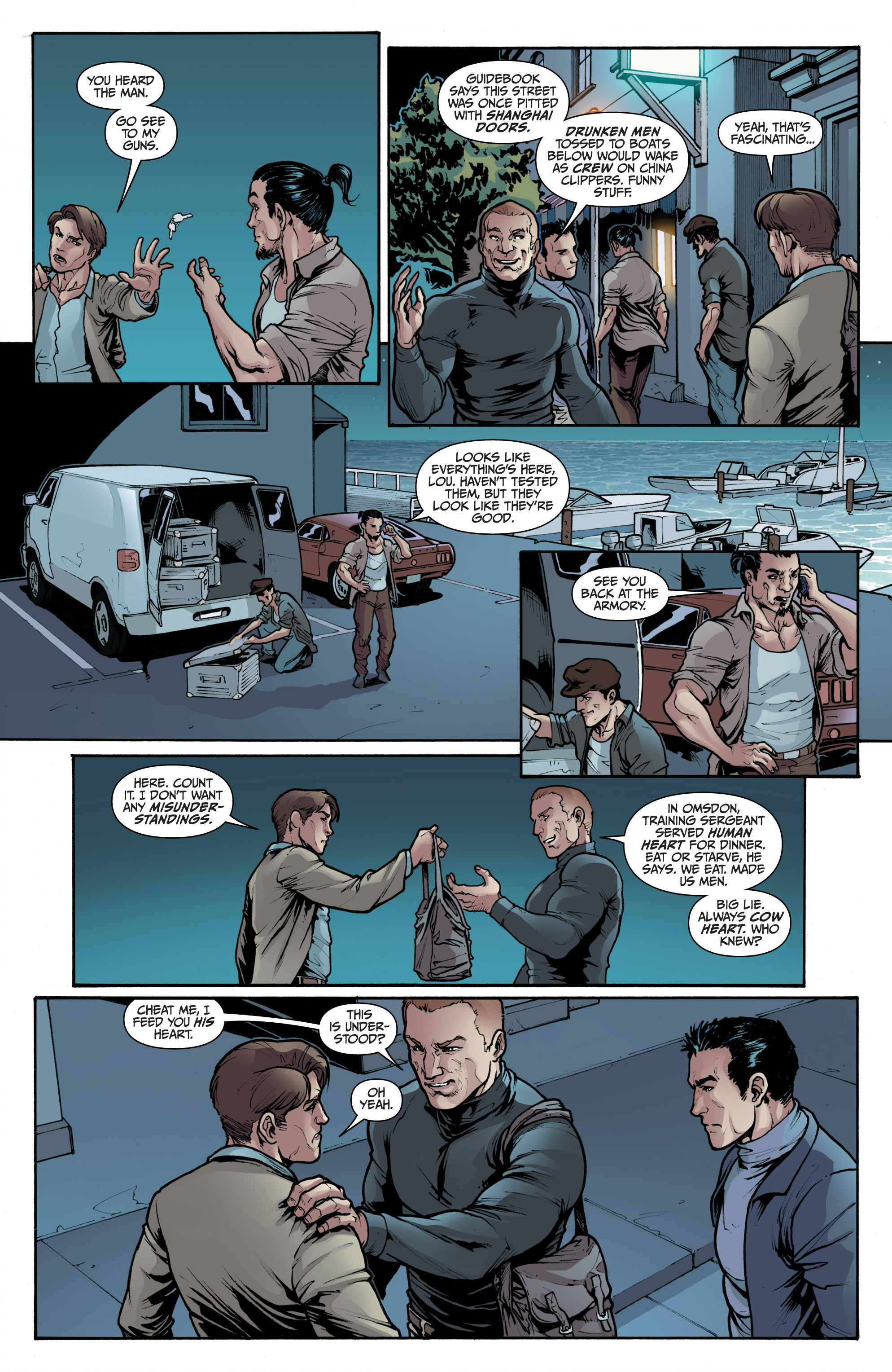 Read online 3 Guns comic -  Issue #2 - 16
