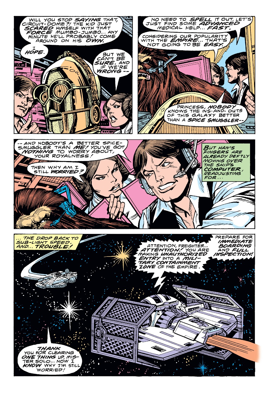 Read online Star Wars Legends: The Original Marvel Years - Epic Collection comic -  Issue # TPB 1 (Part 4) - 20