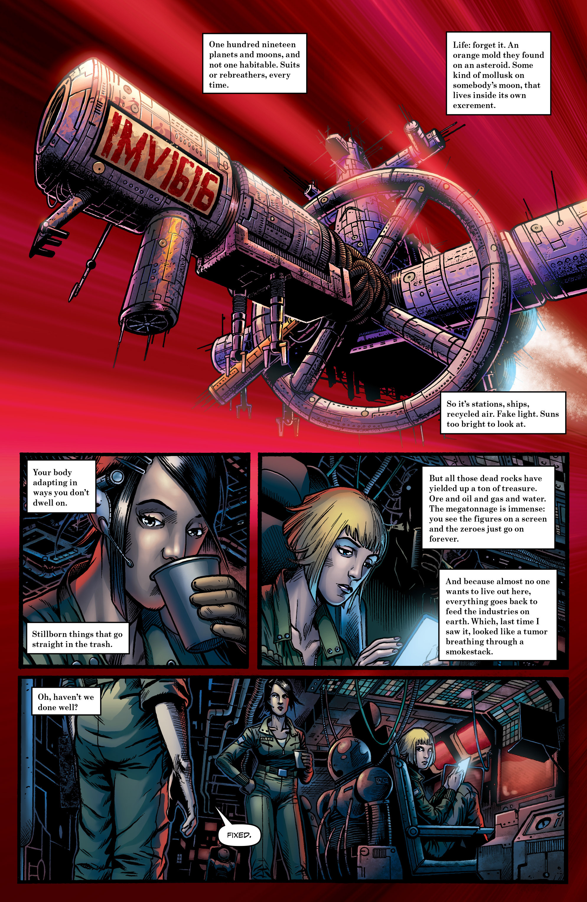 Read online Caliban comic -  Issue #1 - 12