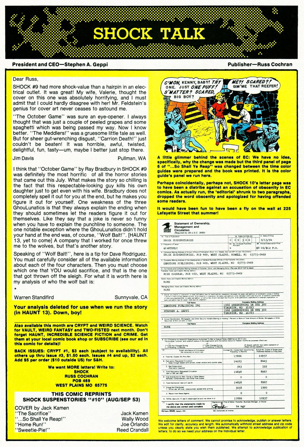 Read online Shock SuspenStories comic -  Issue #10 - 18
