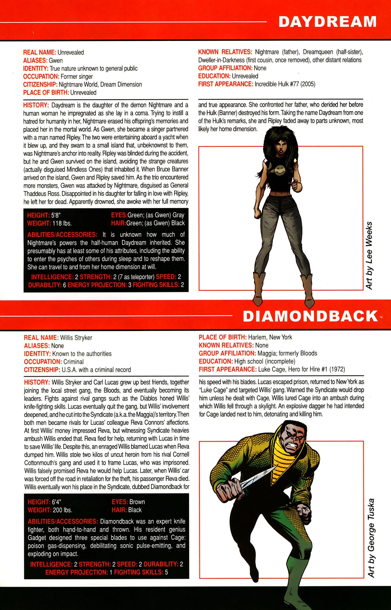 Read online All-New Official Handbook of the Marvel Universe A to Z: Update comic -  Issue #1 - 62