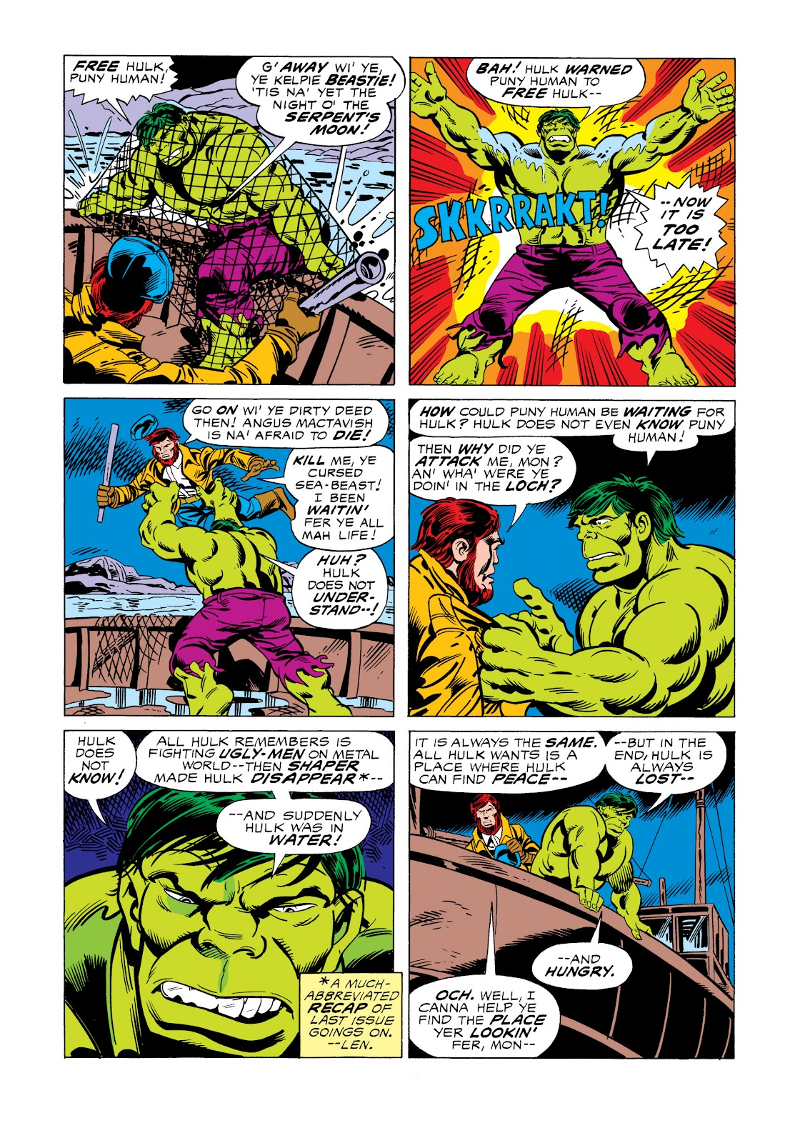 Read online Marvel Masterworks: The Incredible Hulk comic -  Issue # TPB 11 (Part 2) - 60