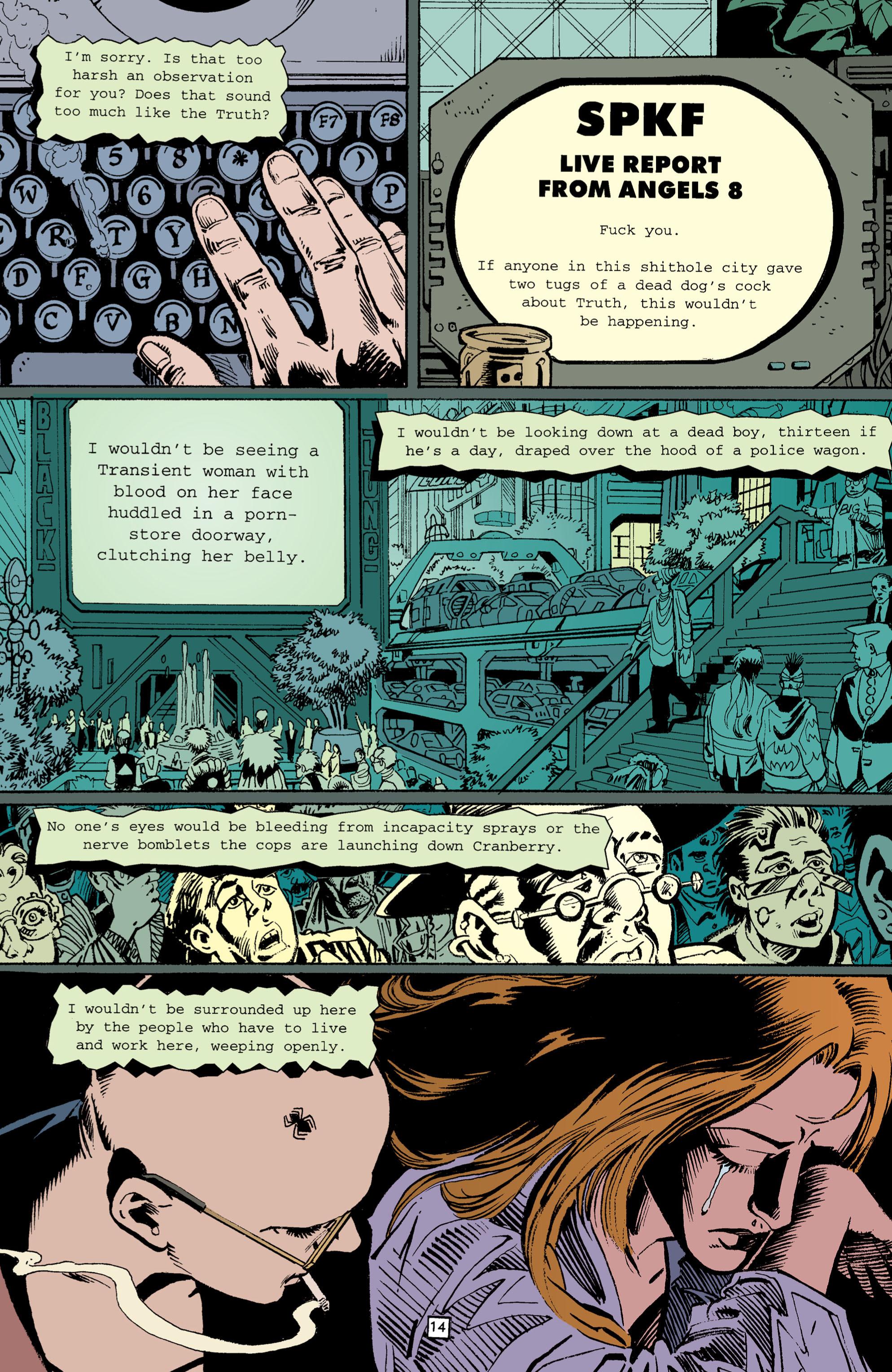 Read online Transmetropolitan comic -  Issue #3 - 14