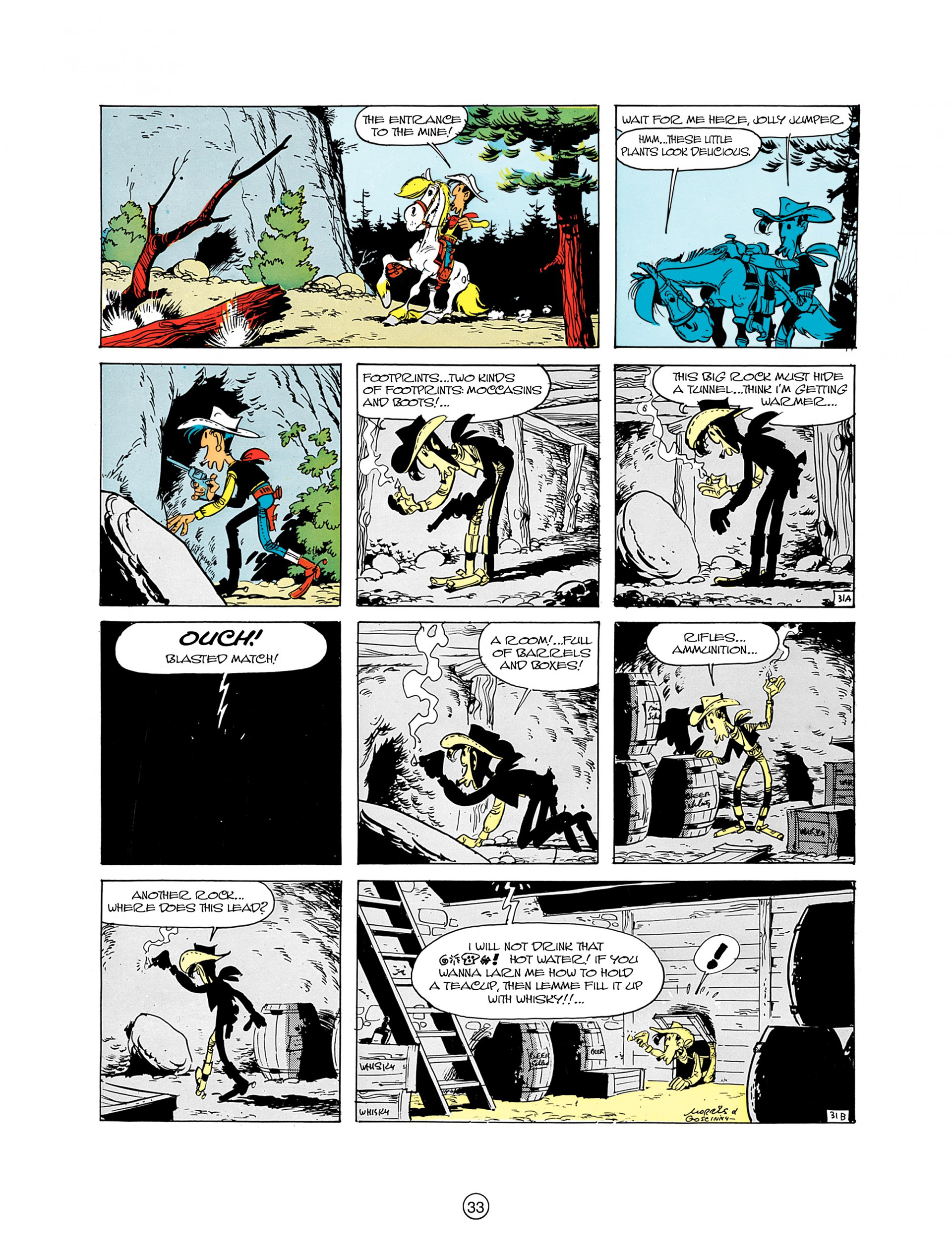 Read online A Lucky Luke Adventure comic -  Issue #8 - 33