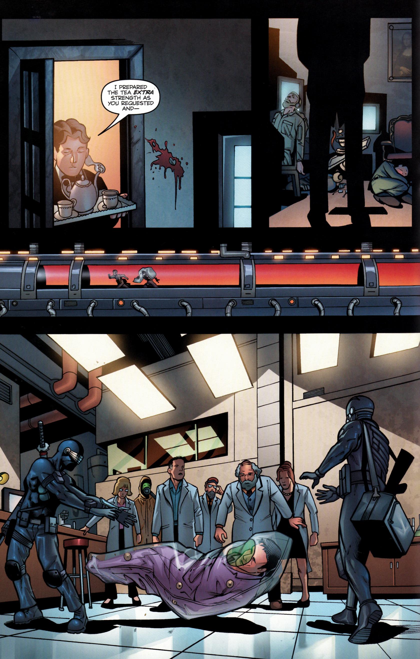 Read online G.I. Joe: Snake Eyes comic -  Issue #6 - 15