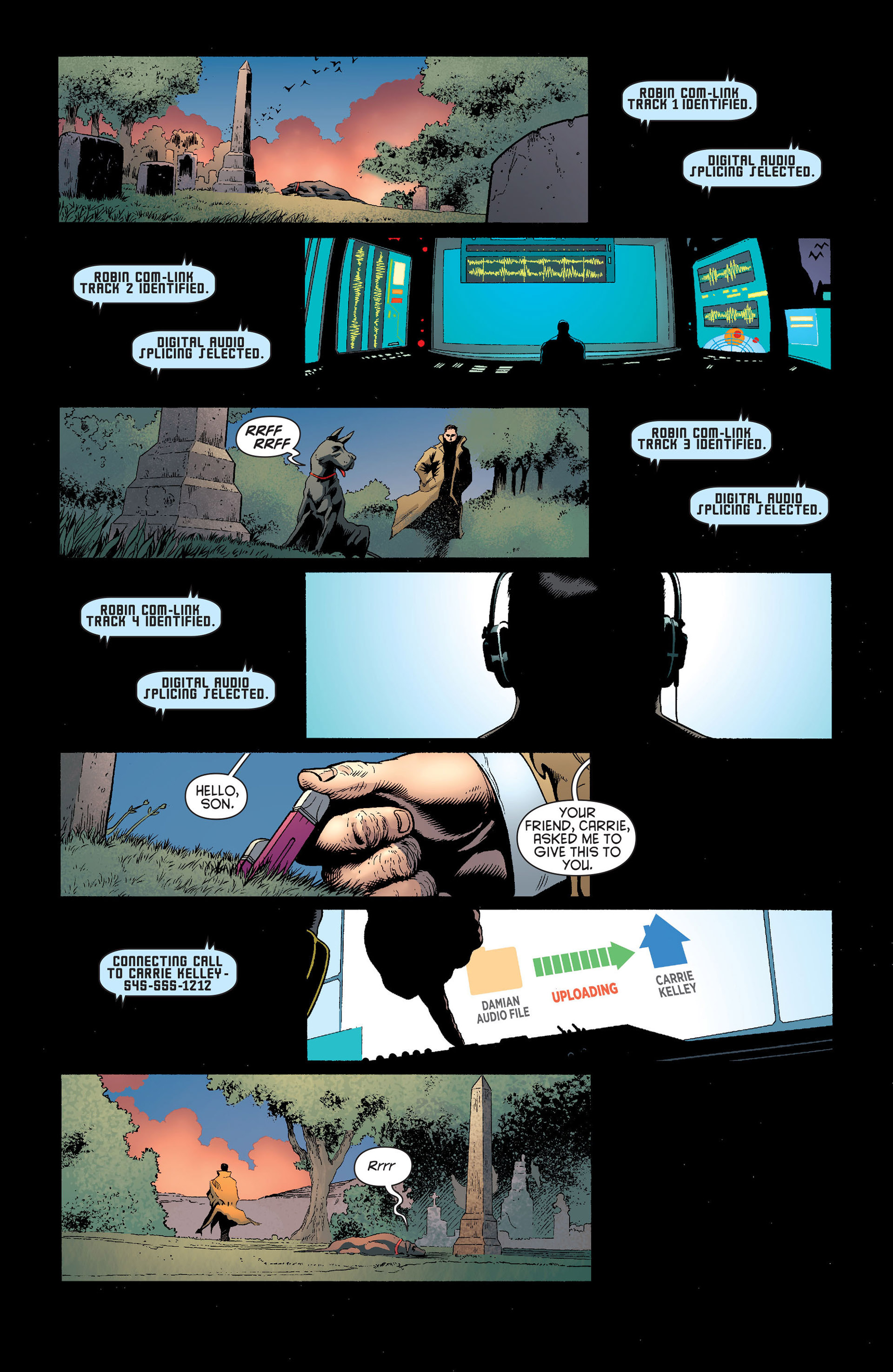 Read online Batman and Robin (2011) comic -  Issue #22 - Batman and Catwoman - 8