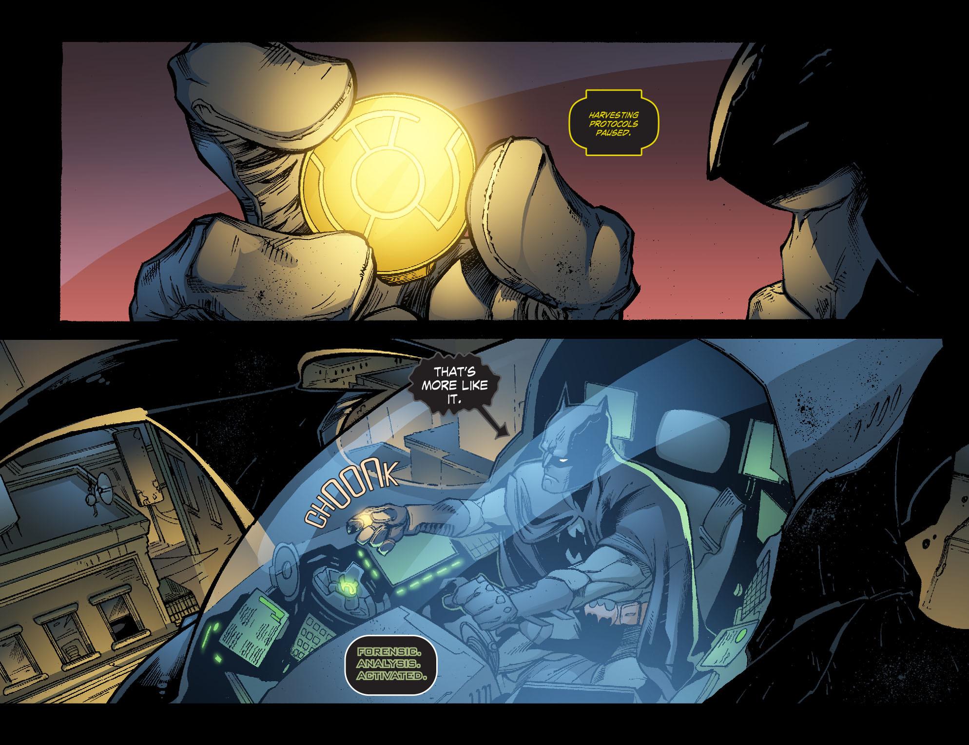 Read online Smallville: Lantern [I] comic -  Issue #11 - 15