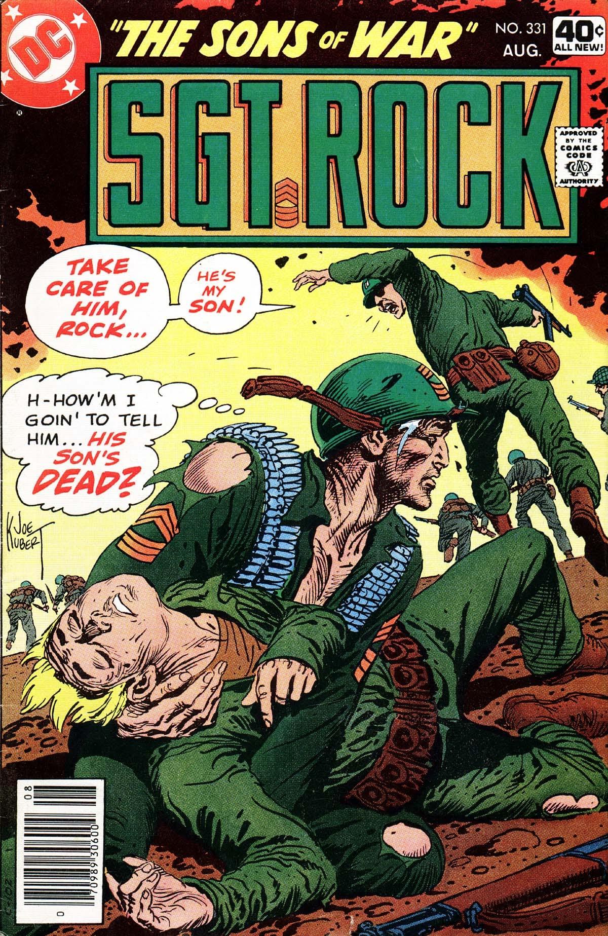 Read online Sgt. Rock comic -  Issue #331 - 1