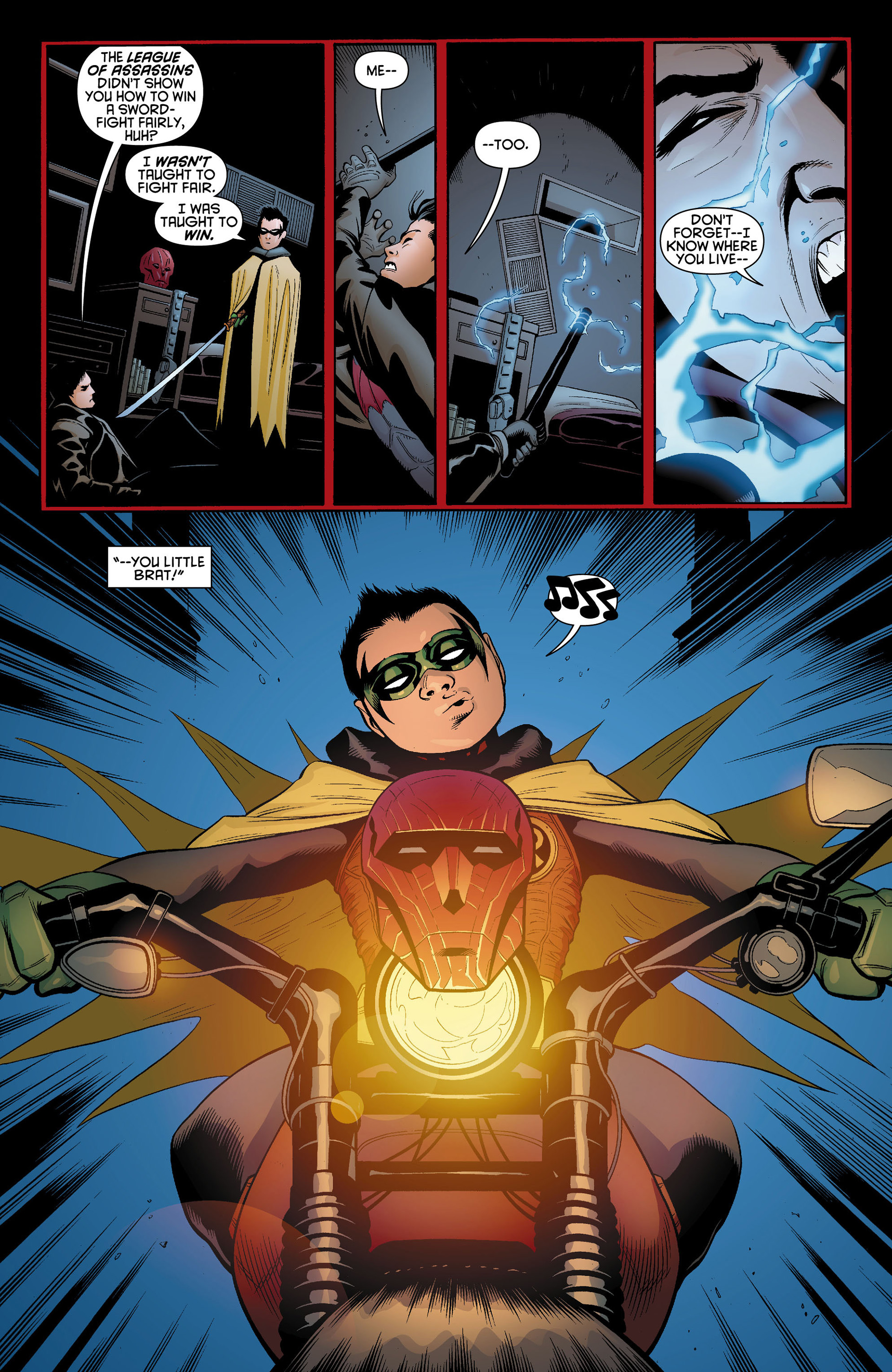 Read online Batman and Robin (2011) comic -  Issue #11 - 7