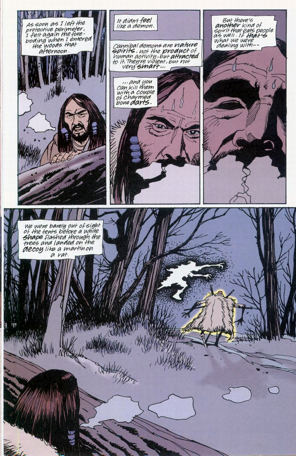 Muktuk Wolfsbreath: Hard-Boiled Shaman issue 1 - Page 14