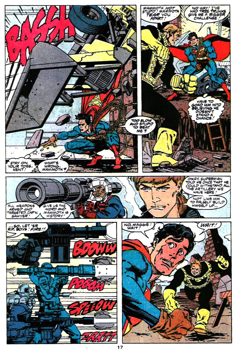 Read online Adventures of Superman (1987) comic -  Issue #472 - 18
