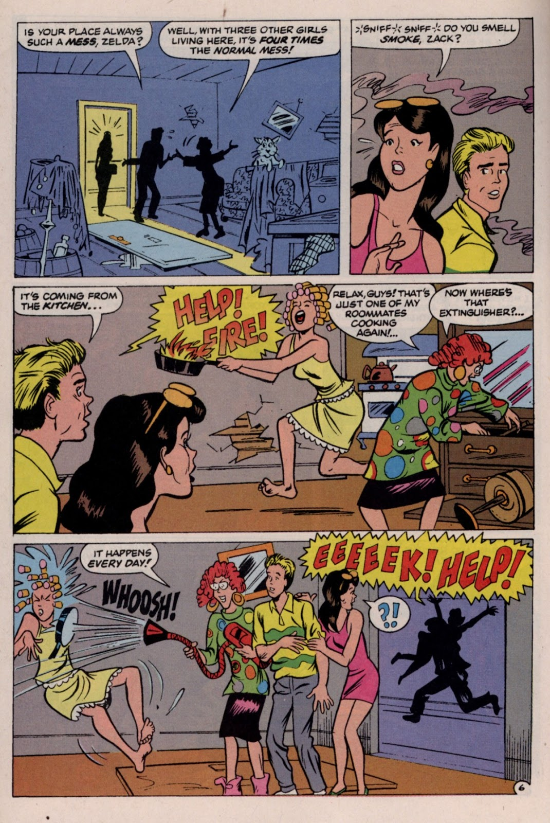 Read online Saved By The Bell comic -  Issue #2 - 29